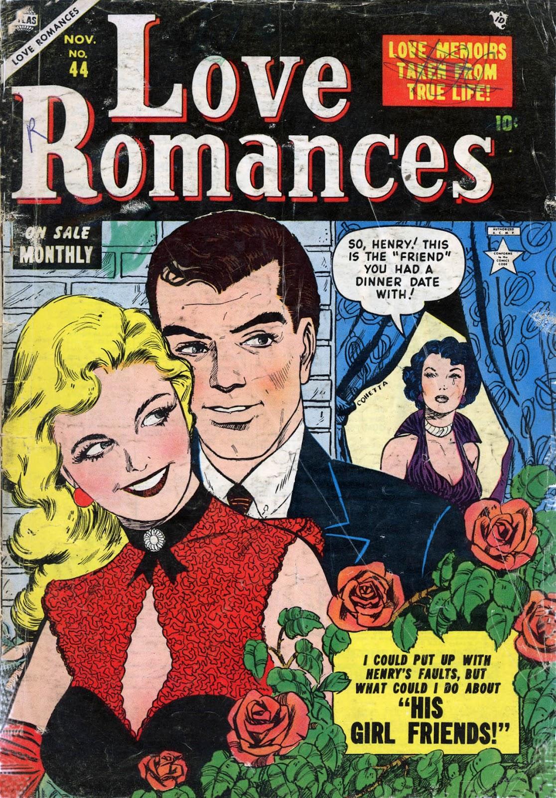 Love Romances (1949) issue 44 - Page 1