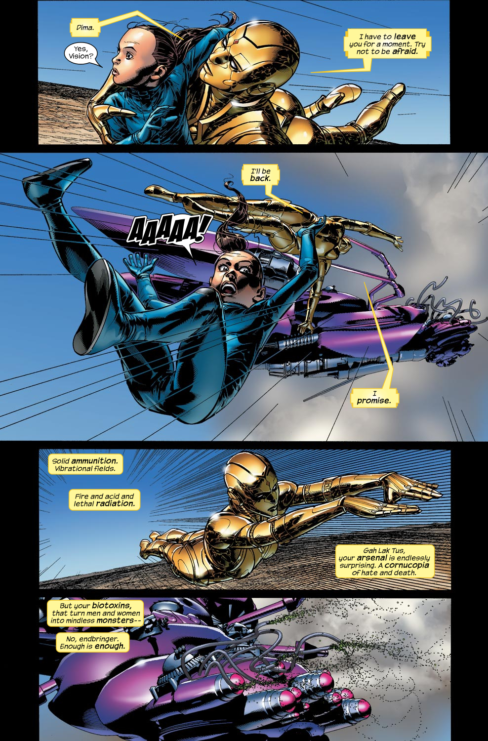 Read online Ultimate Vision comic -  Issue #4 - 5