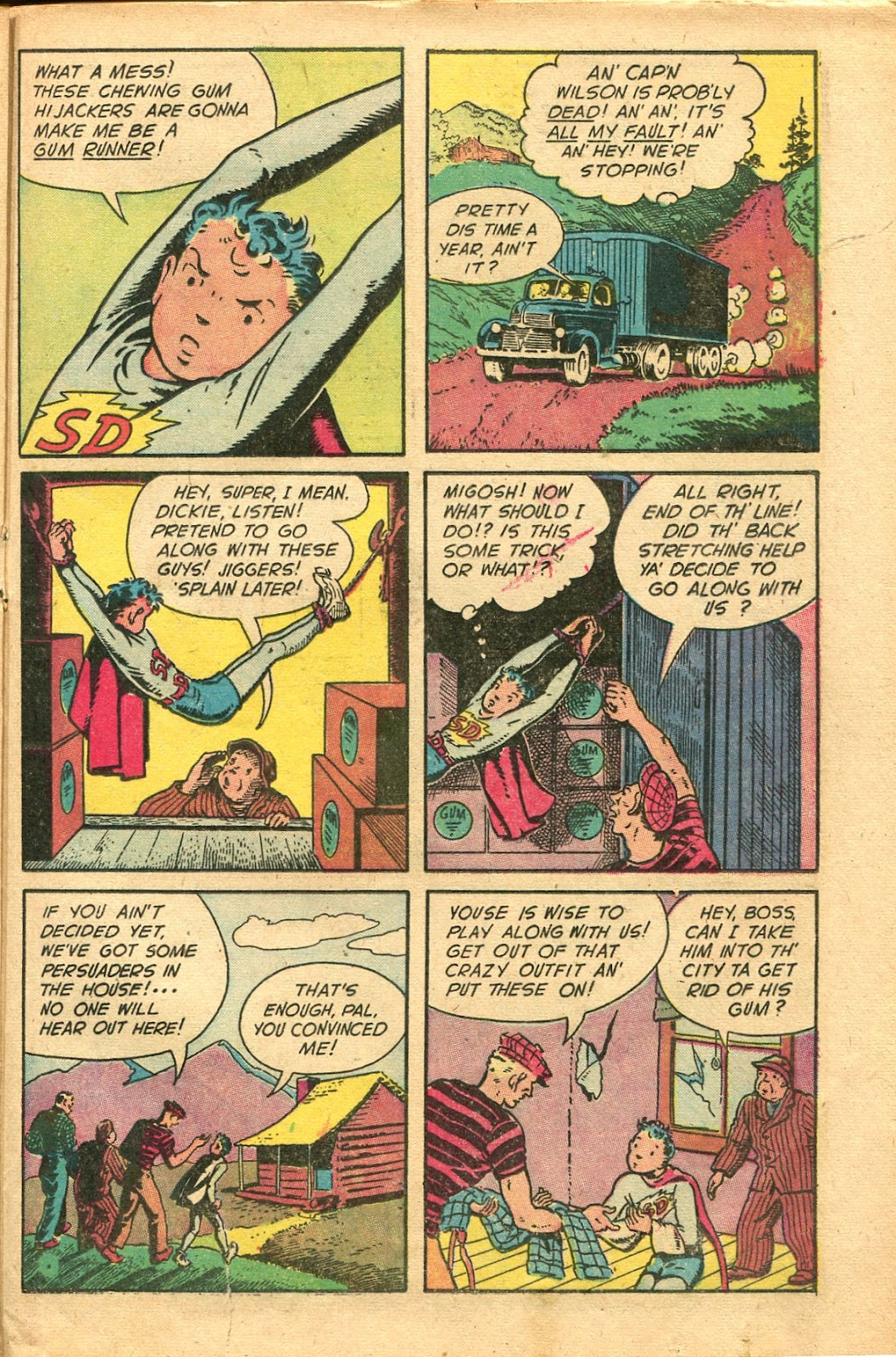 Read online Famous Funnies comic -  Issue #154 - 31