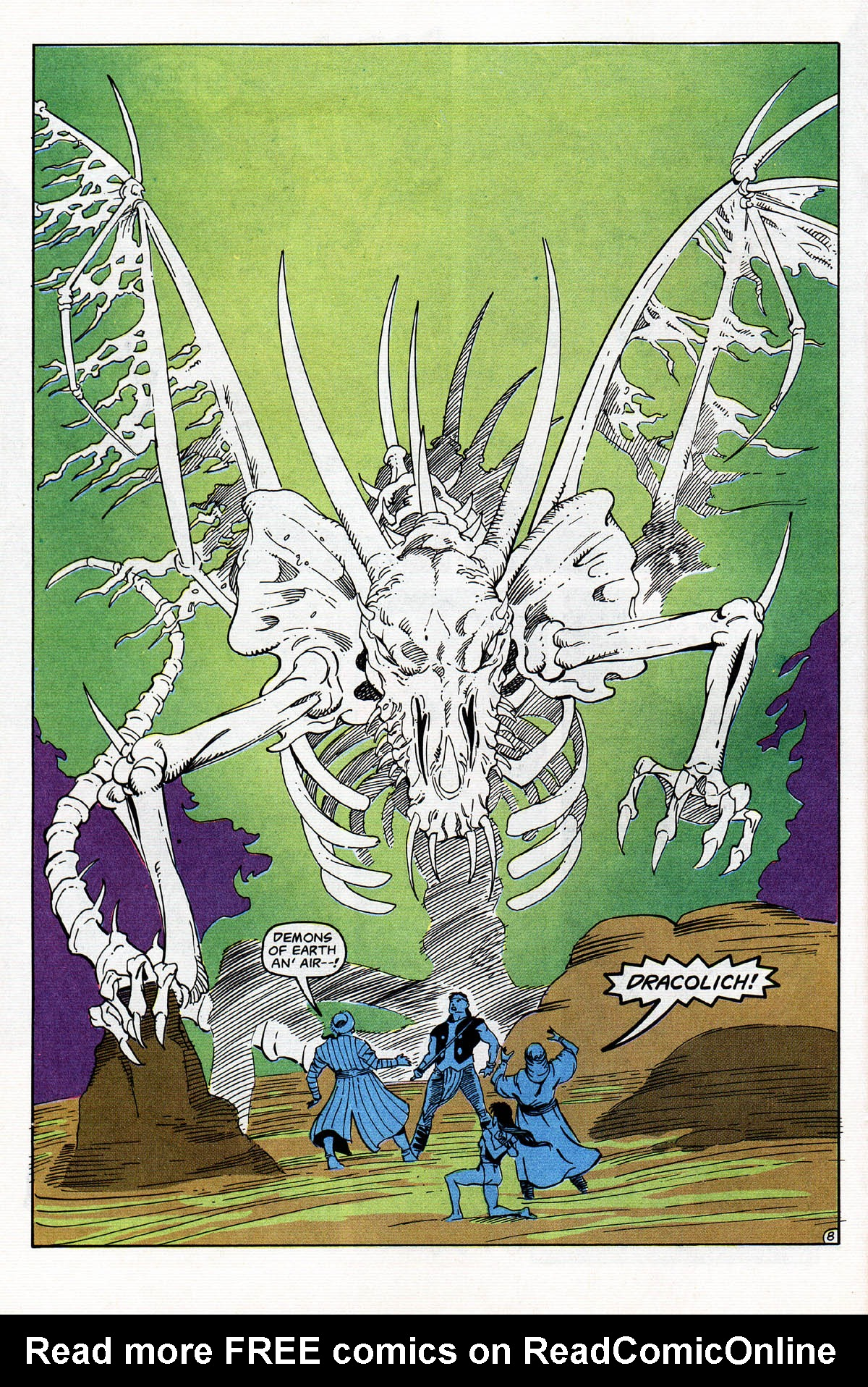 Read online Advanced Dungeons & Dragons comic -  Issue #13 - 9