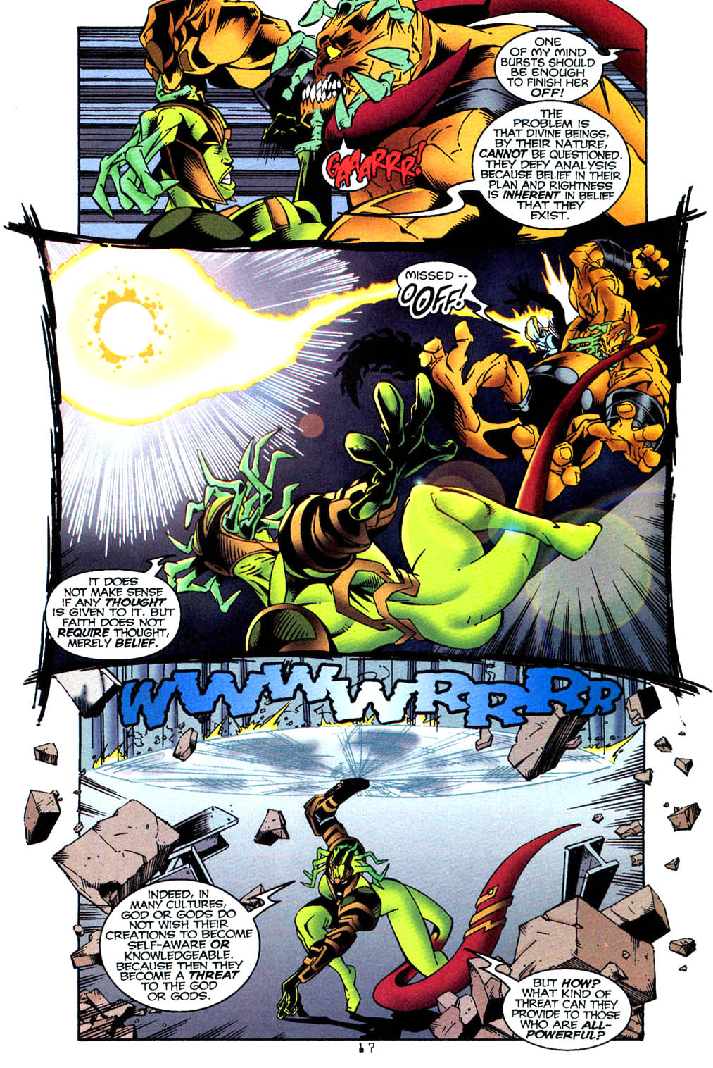 Read online Tangent Comics/ Wonder Woman comic -  Issue # Full - 17