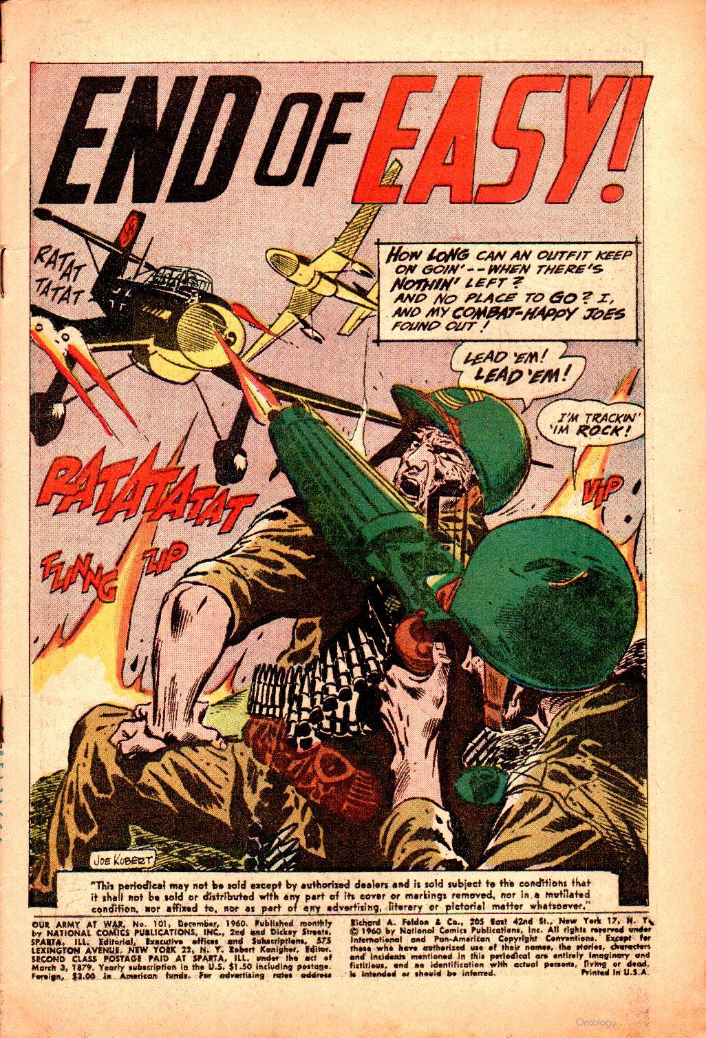 Our Army at War (1952) issue 101 - Page 3
