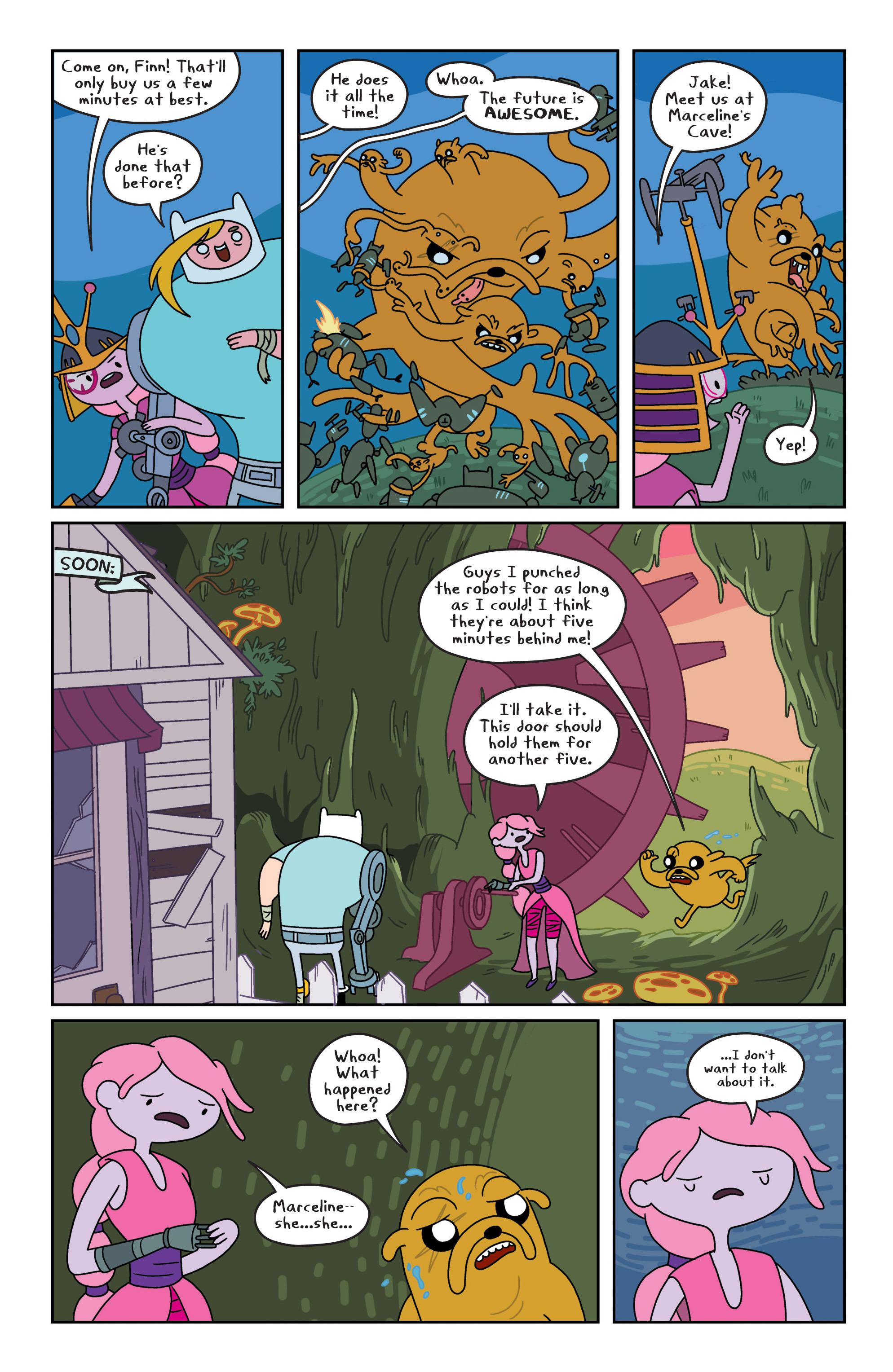 Read online Adventure Time comic -  Issue #8 - 15