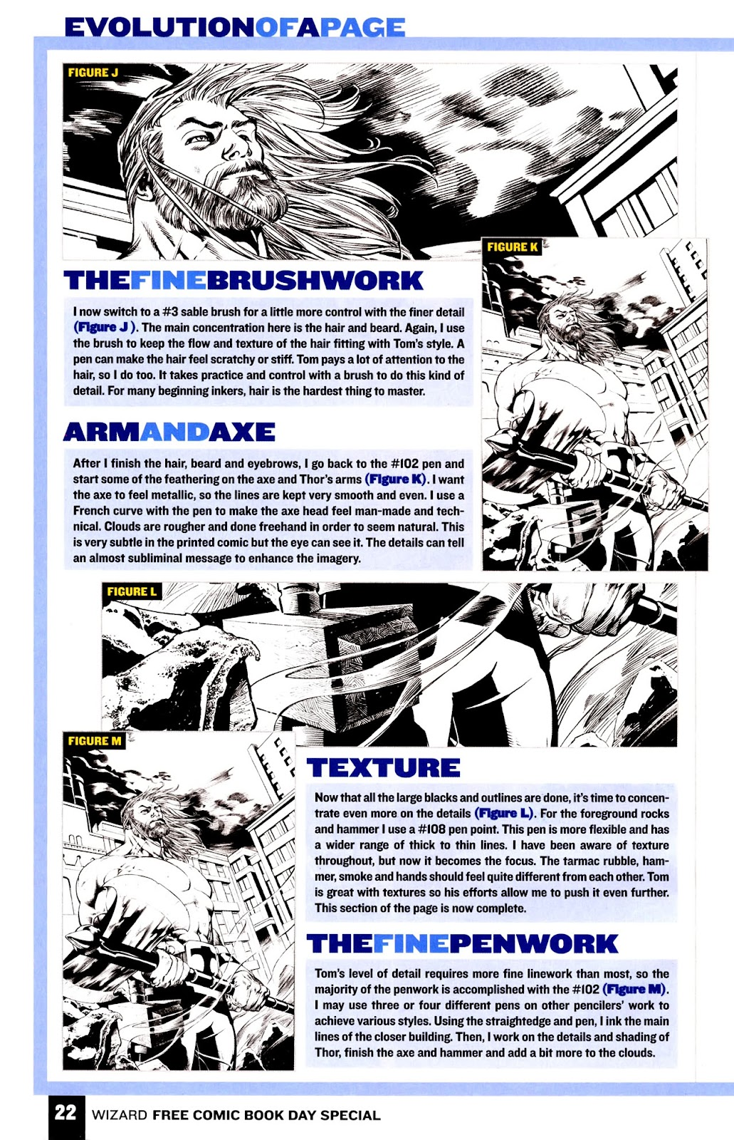 Read online Wizard How to Draw Sampler comic -  Issue # Full - 23