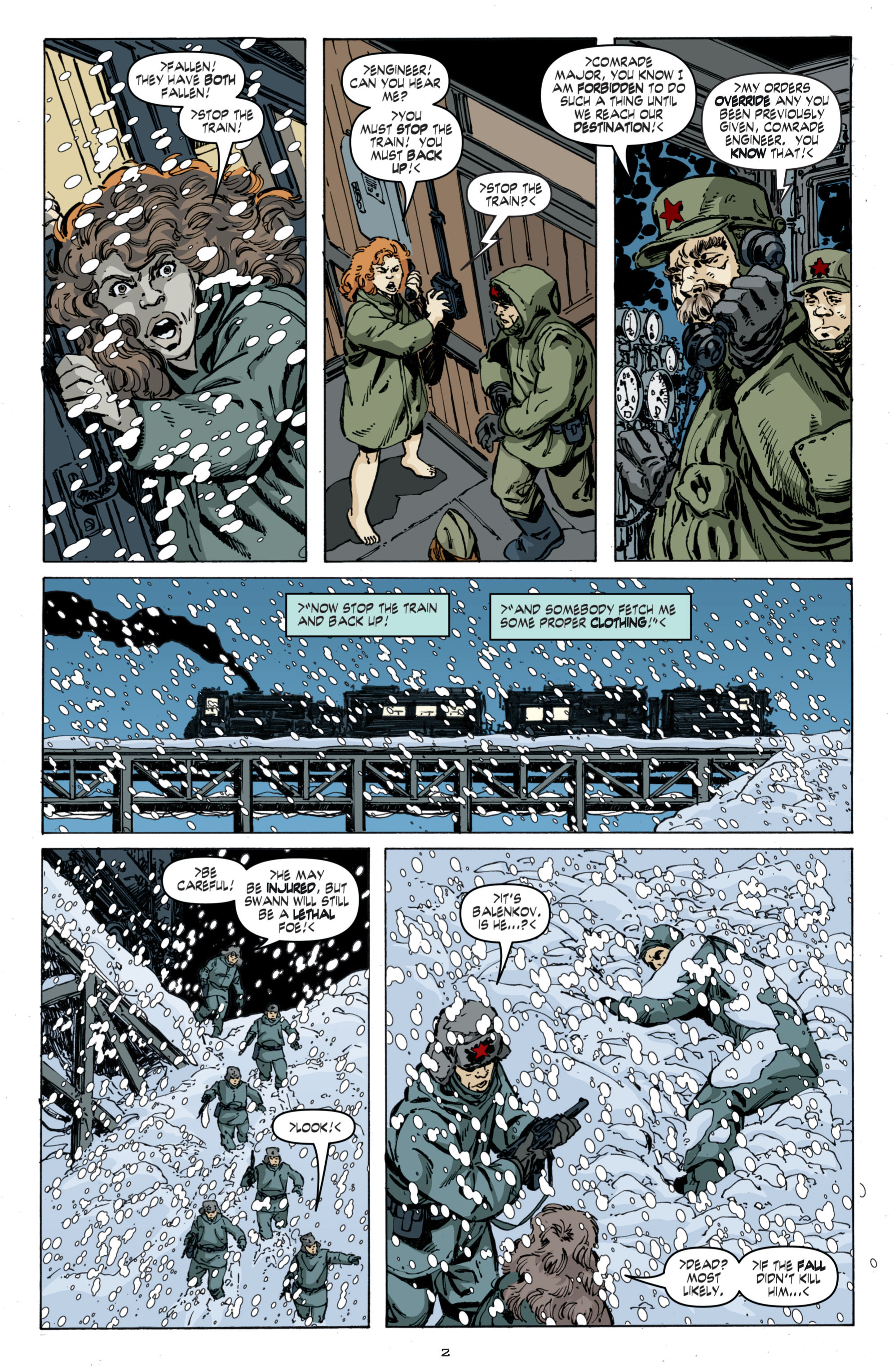 Read online Cold War comic -  Issue # TPB - 86