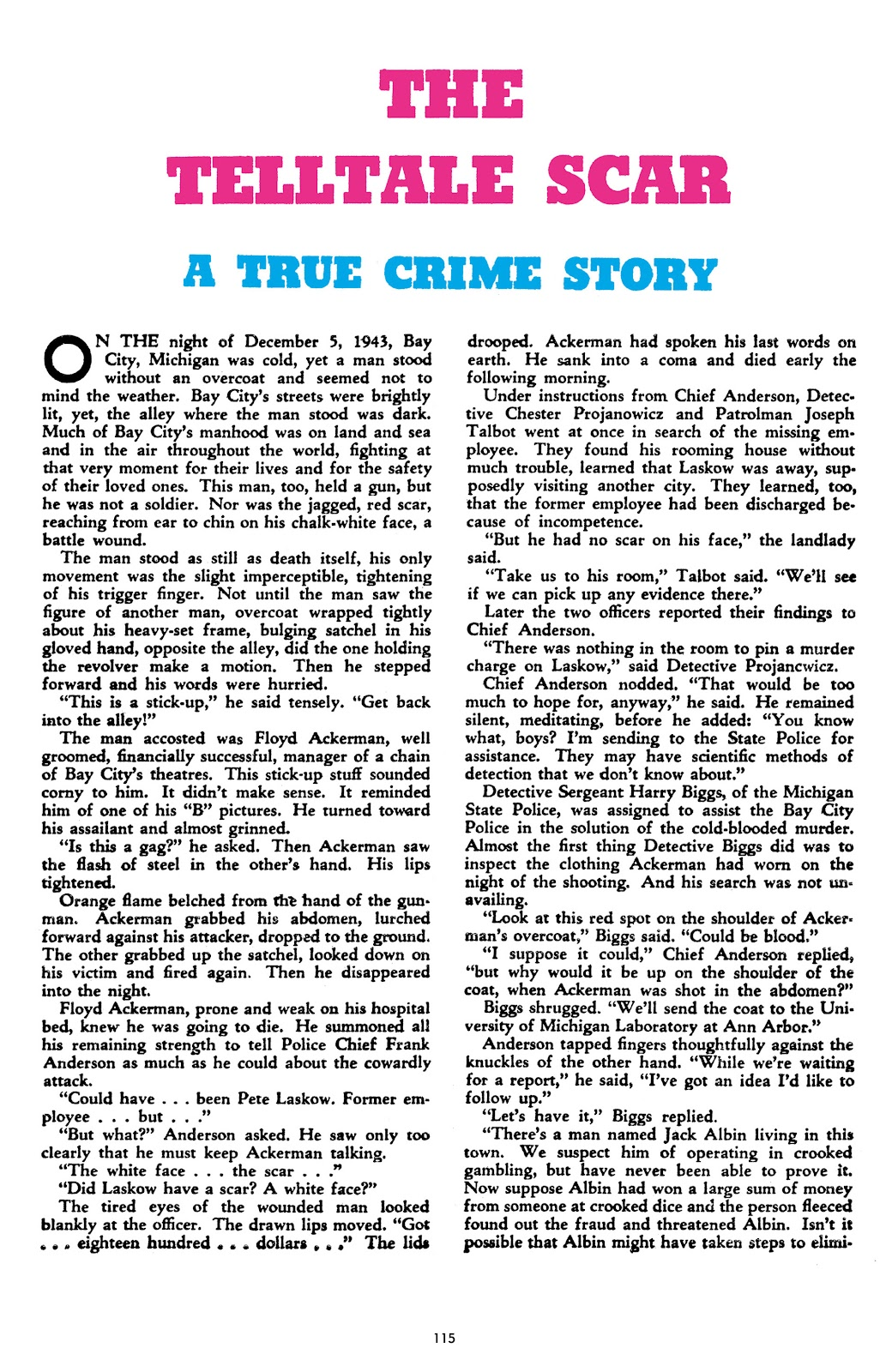 Read online Crime Does Not Pay Archives comic -  Issue # TPB 8 (Part 2) - 16