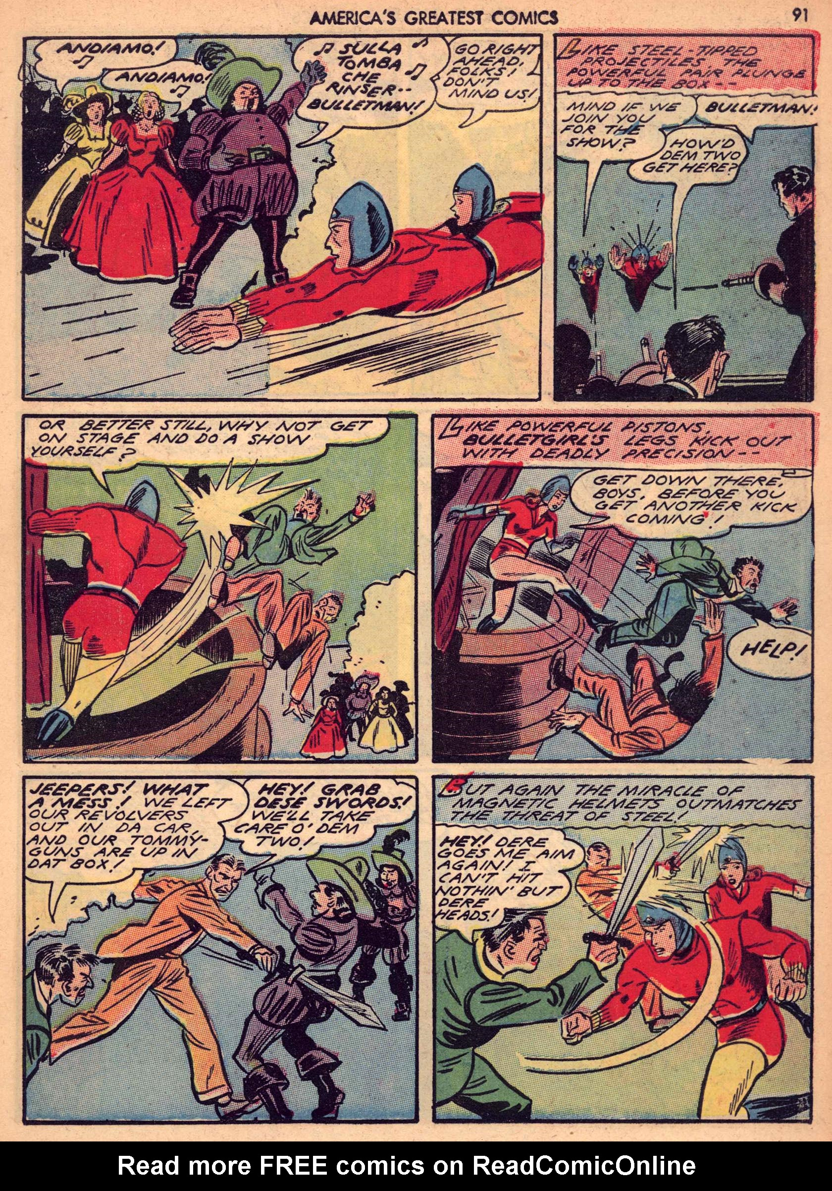 Read online America's Greatest Comics comic -  Issue #7 - 90