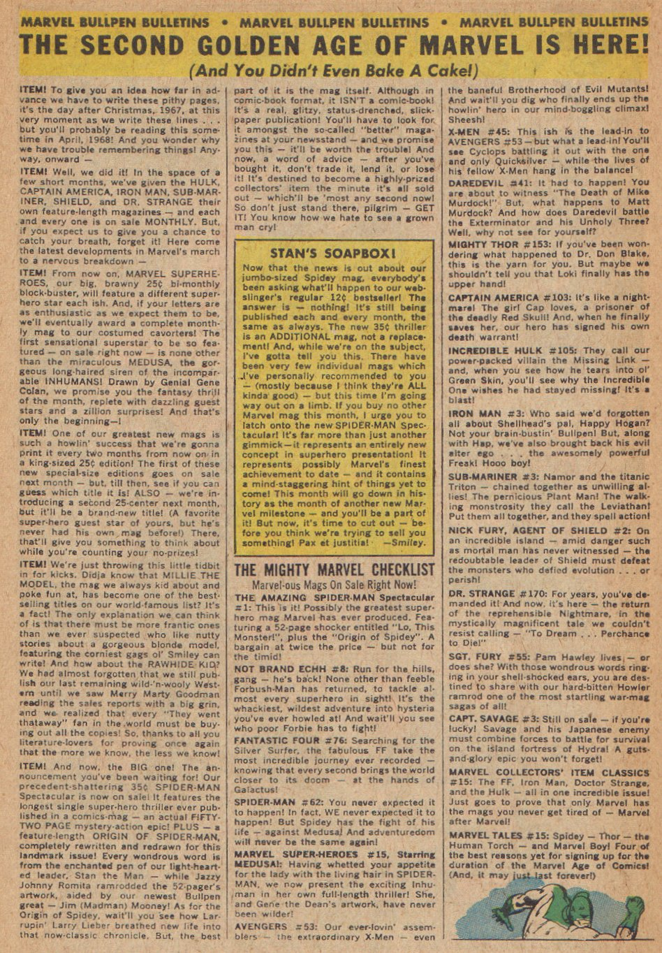 Captain Marvel (1968) Issue #3 #3 - English 22