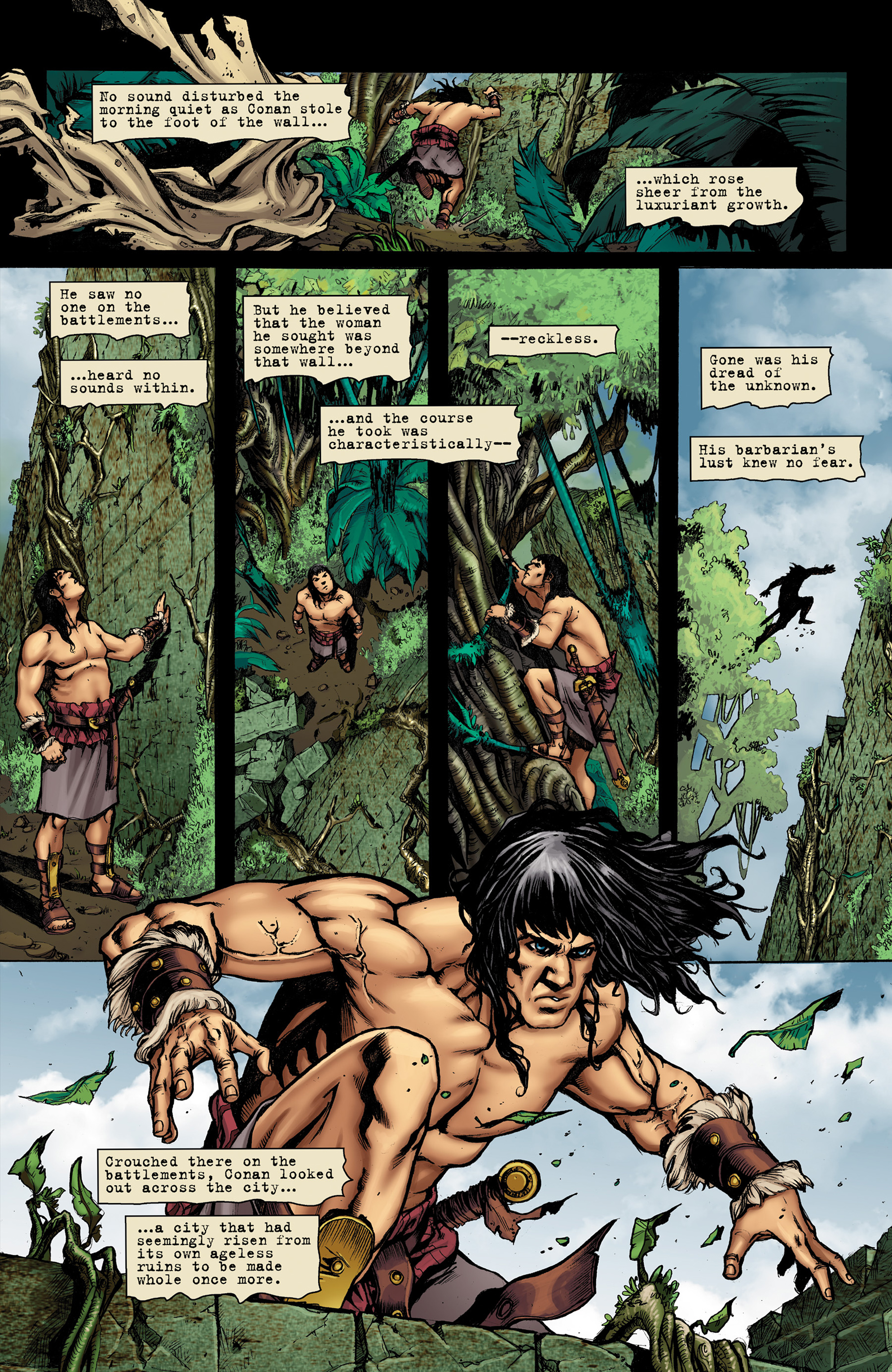 Read online Conan The Slayer comic -  Issue #9 - 6