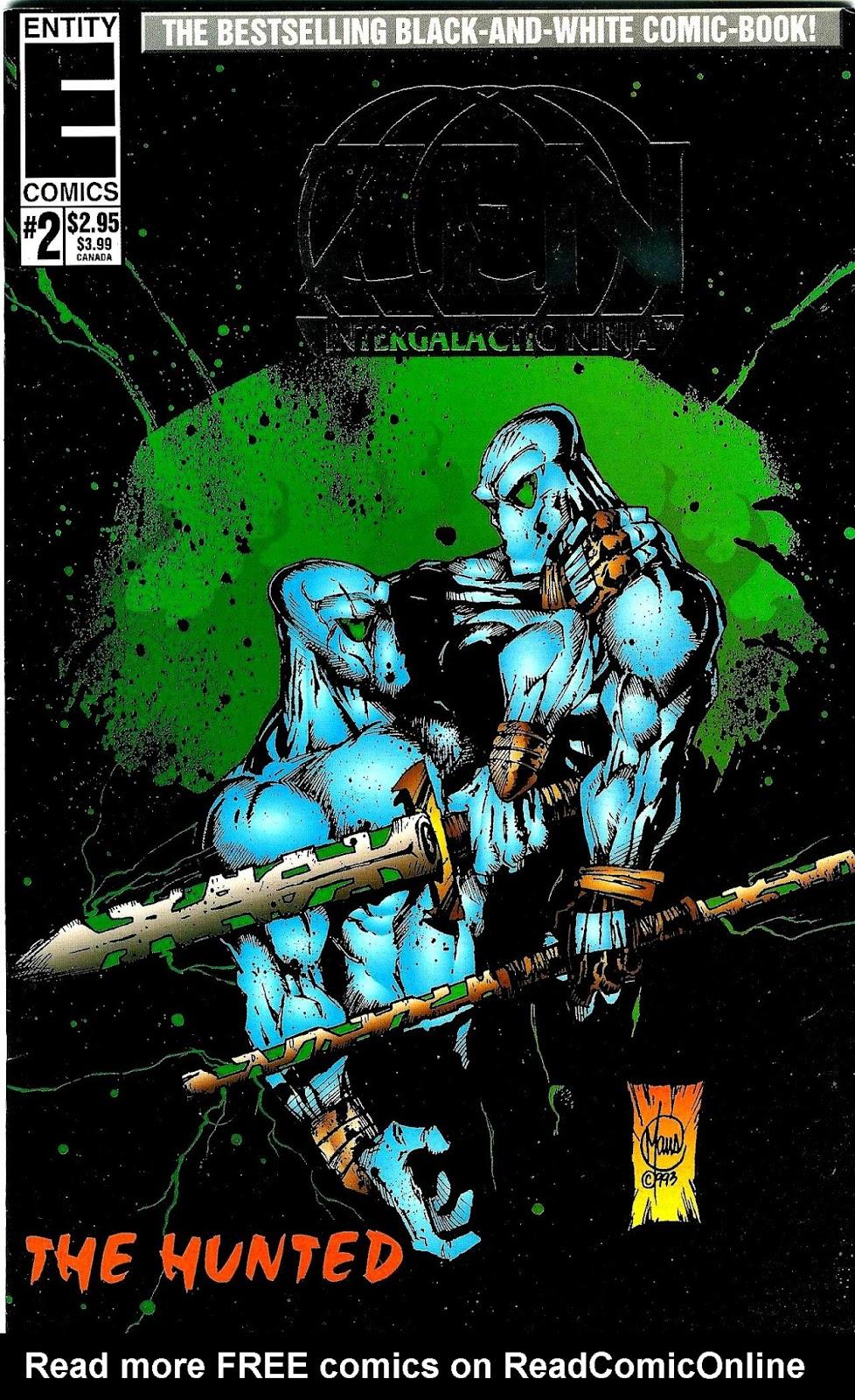 Zen Intergalactic Ninja : The Hunted 2 Page 1