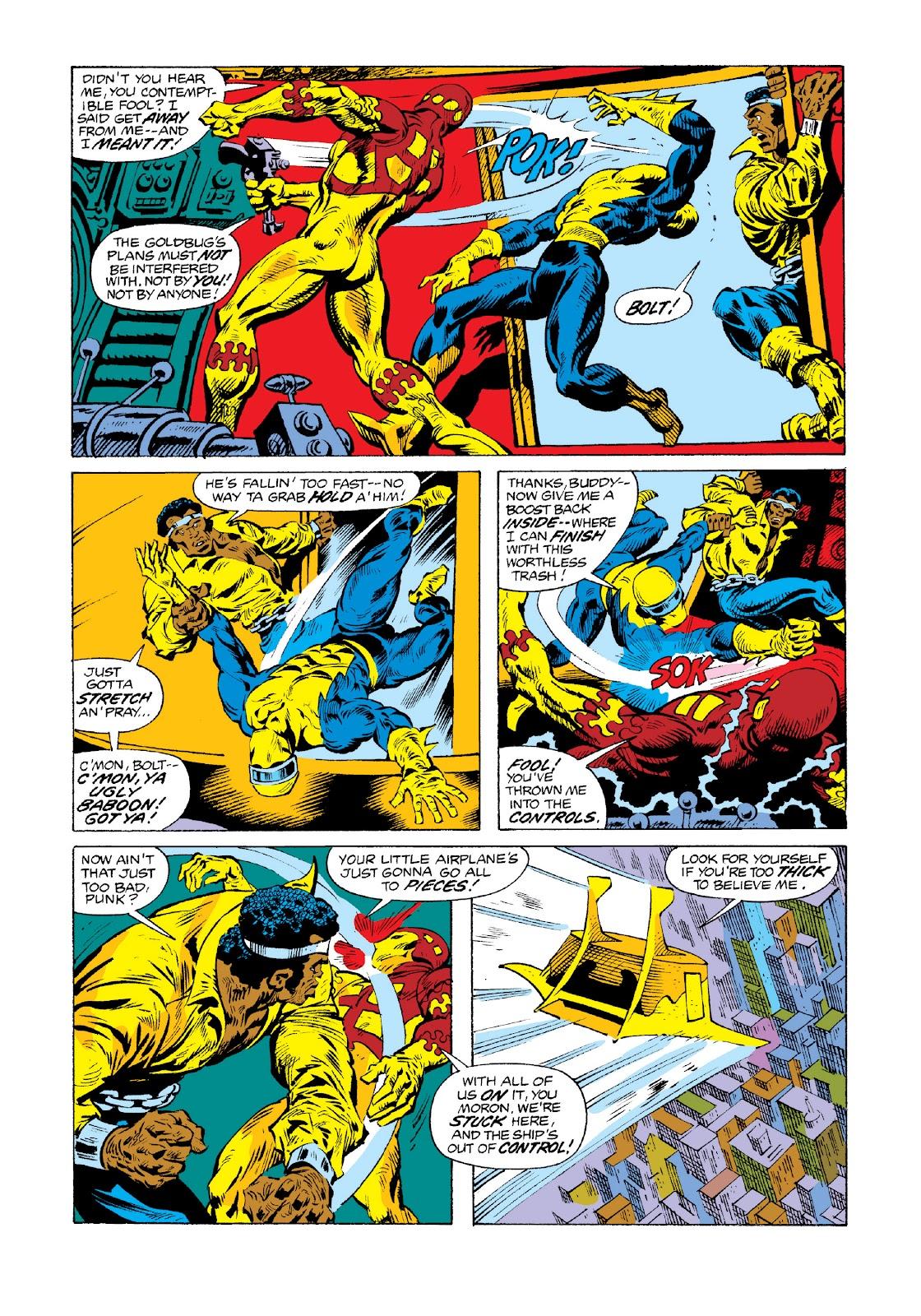 Read online Marvel Masterworks: Luke Cage, Power Man comic -  Issue # TPB 3 (Part 3) - 24