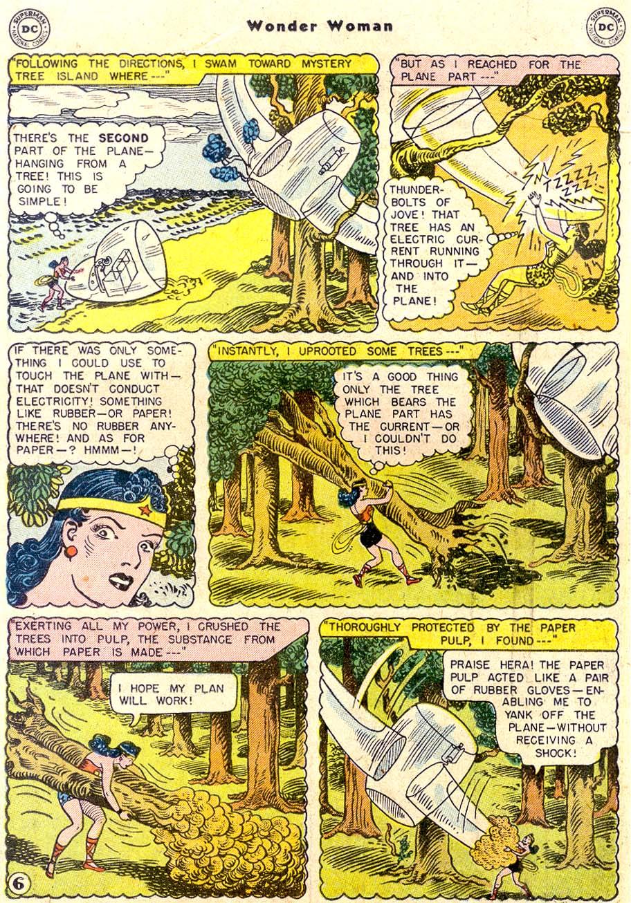 Read online Wonder Woman (1942) comic -  Issue #80 - 18