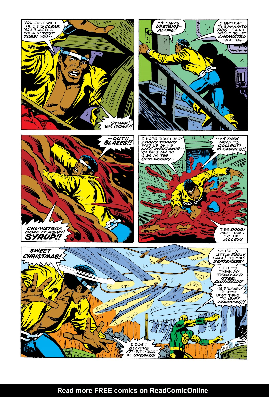 Read online Marvel Masterworks: Luke Cage, Power Man comic -  Issue # TPB 3 (Part 2) - 45