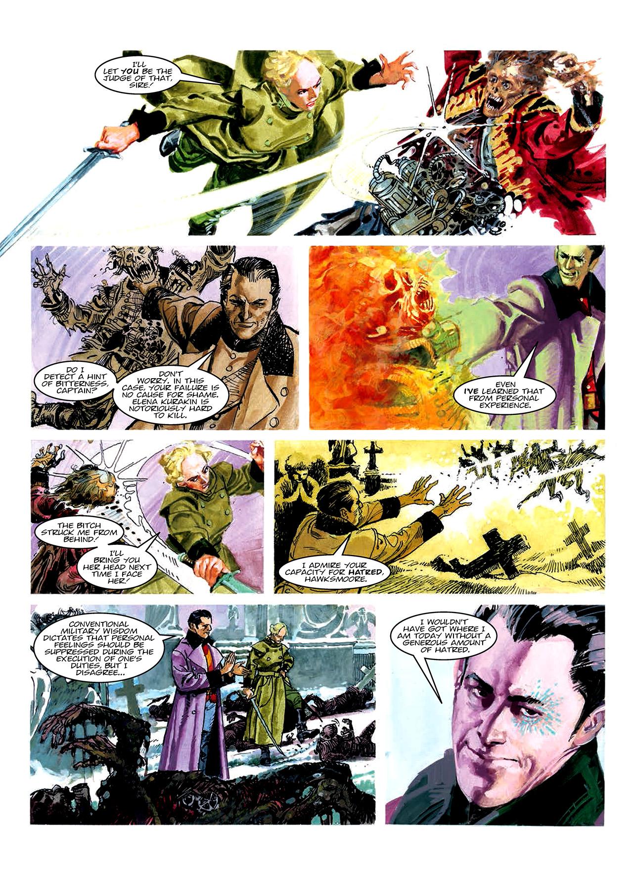 Read online Nikolai Dante comic -  Issue # TPB 10 - 163