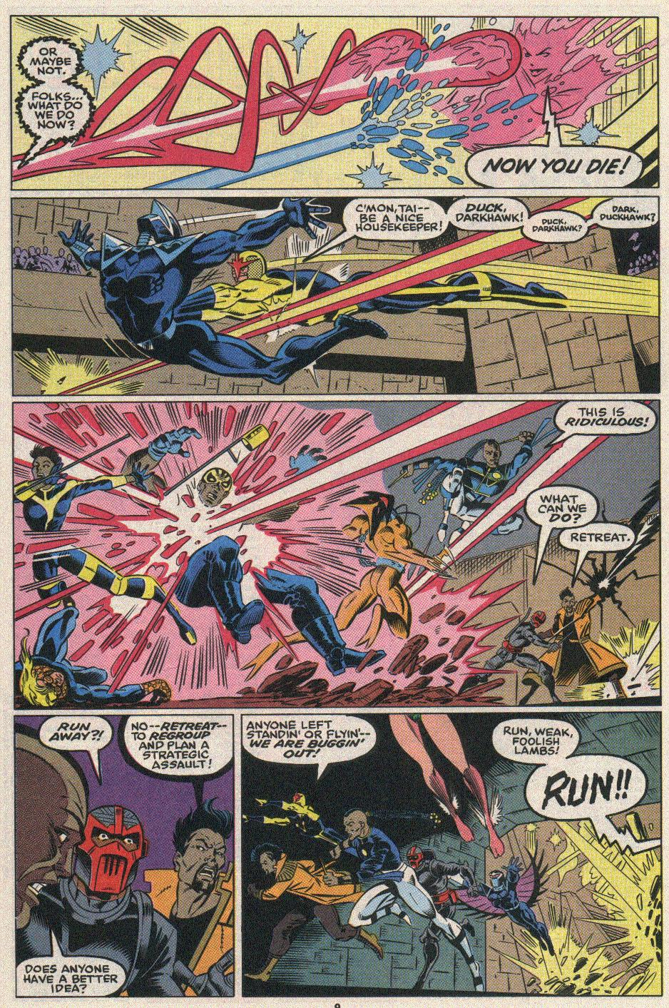 The New Warriors Issue #25 #29 - English 8