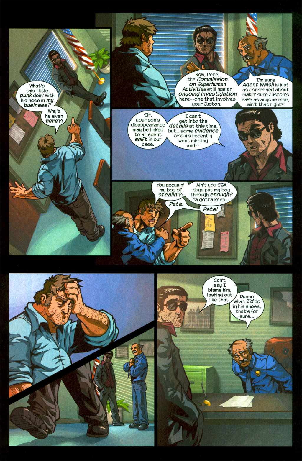 Read online Sentinel (2006) comic -  Issue #1 - 13