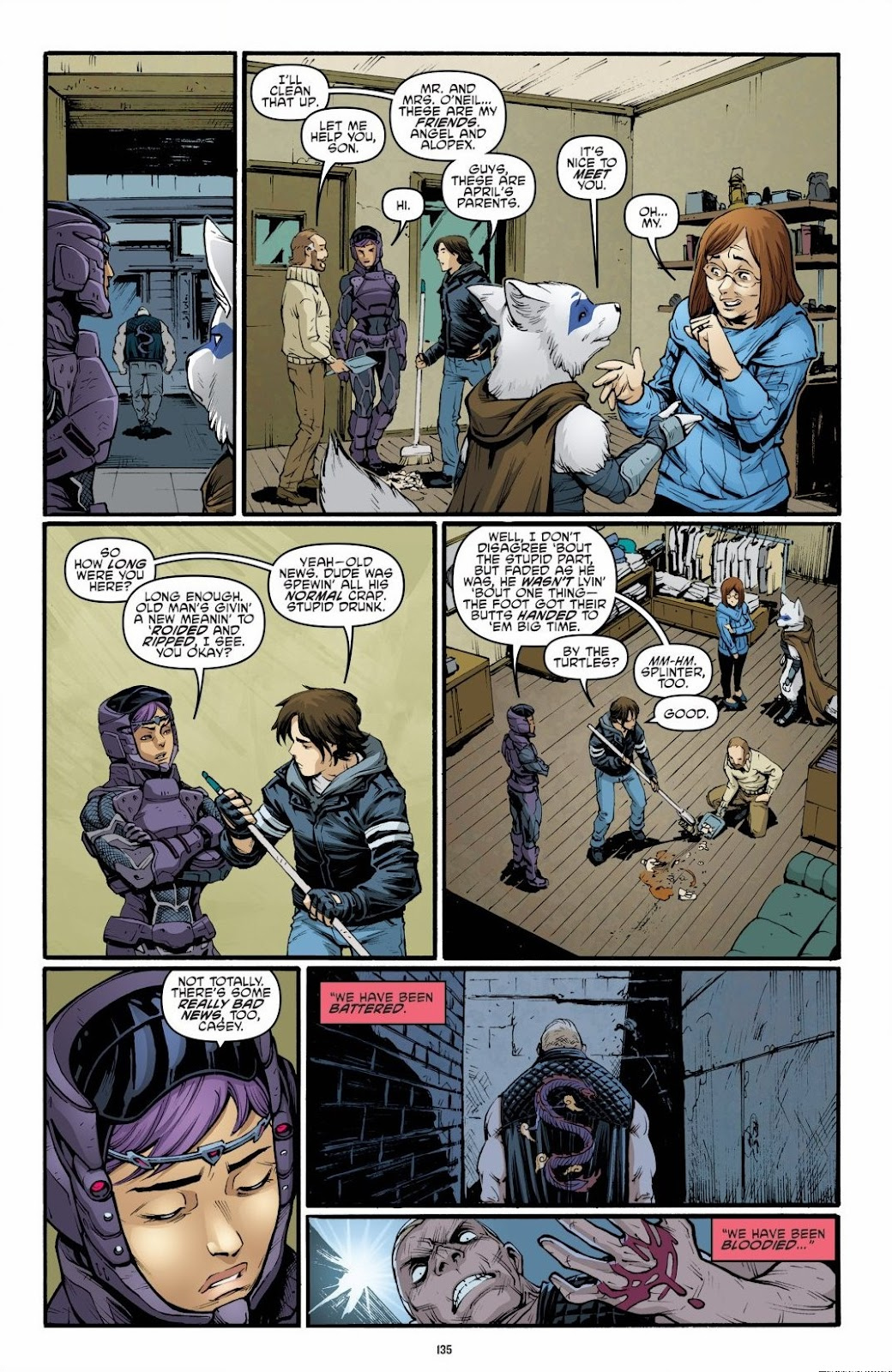 Read online Teenage Mutant Ninja Turtles: The IDW Collection comic -  Issue # TPB 6 (Part 2) - 33