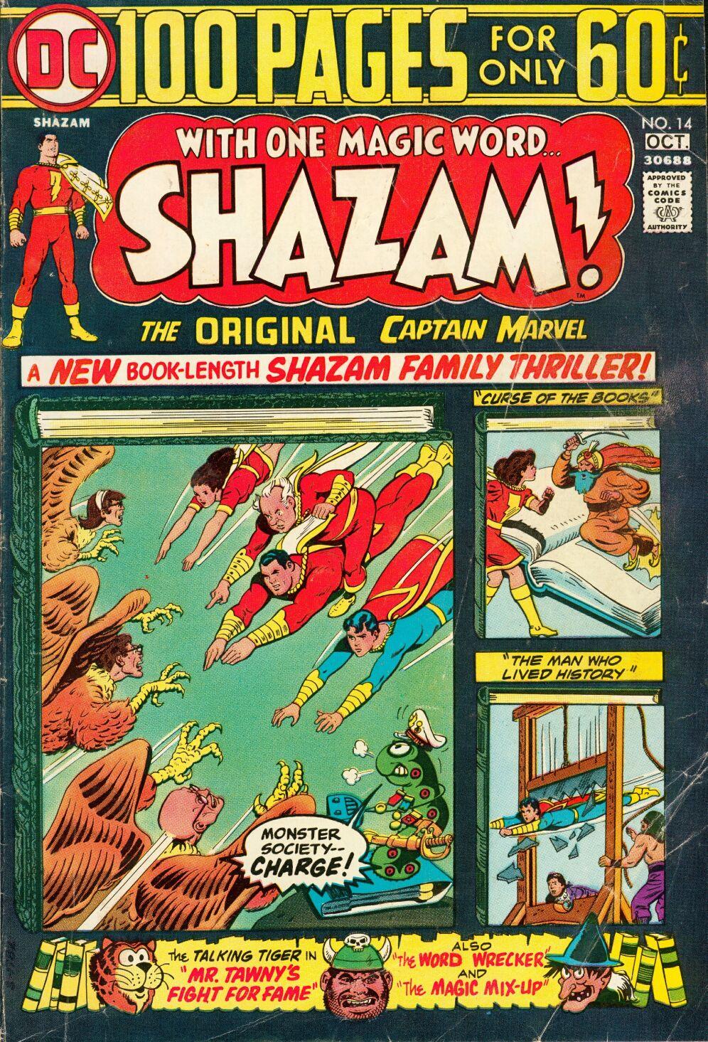 Read online Shazam! (1973) comic -  Issue #14 - 1