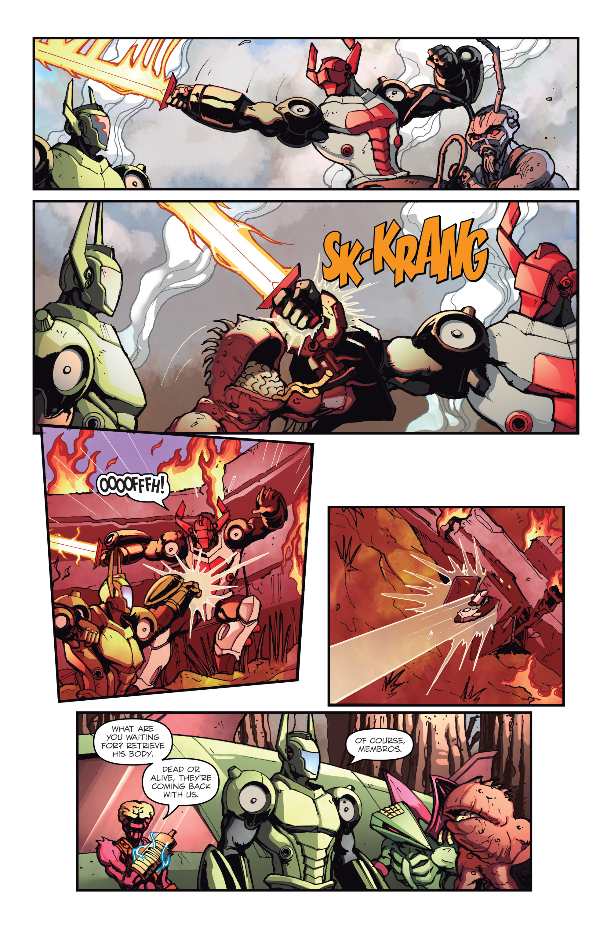 Read online Micronauts: Wrath of Karza comic -  Issue #2 - 13