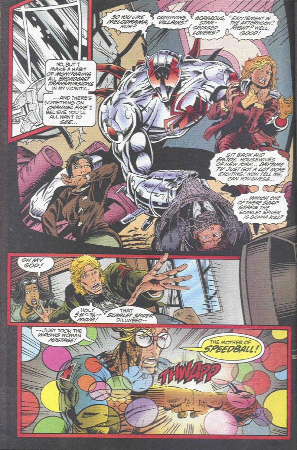 The New Warriors Issue #67 #71 - English 22