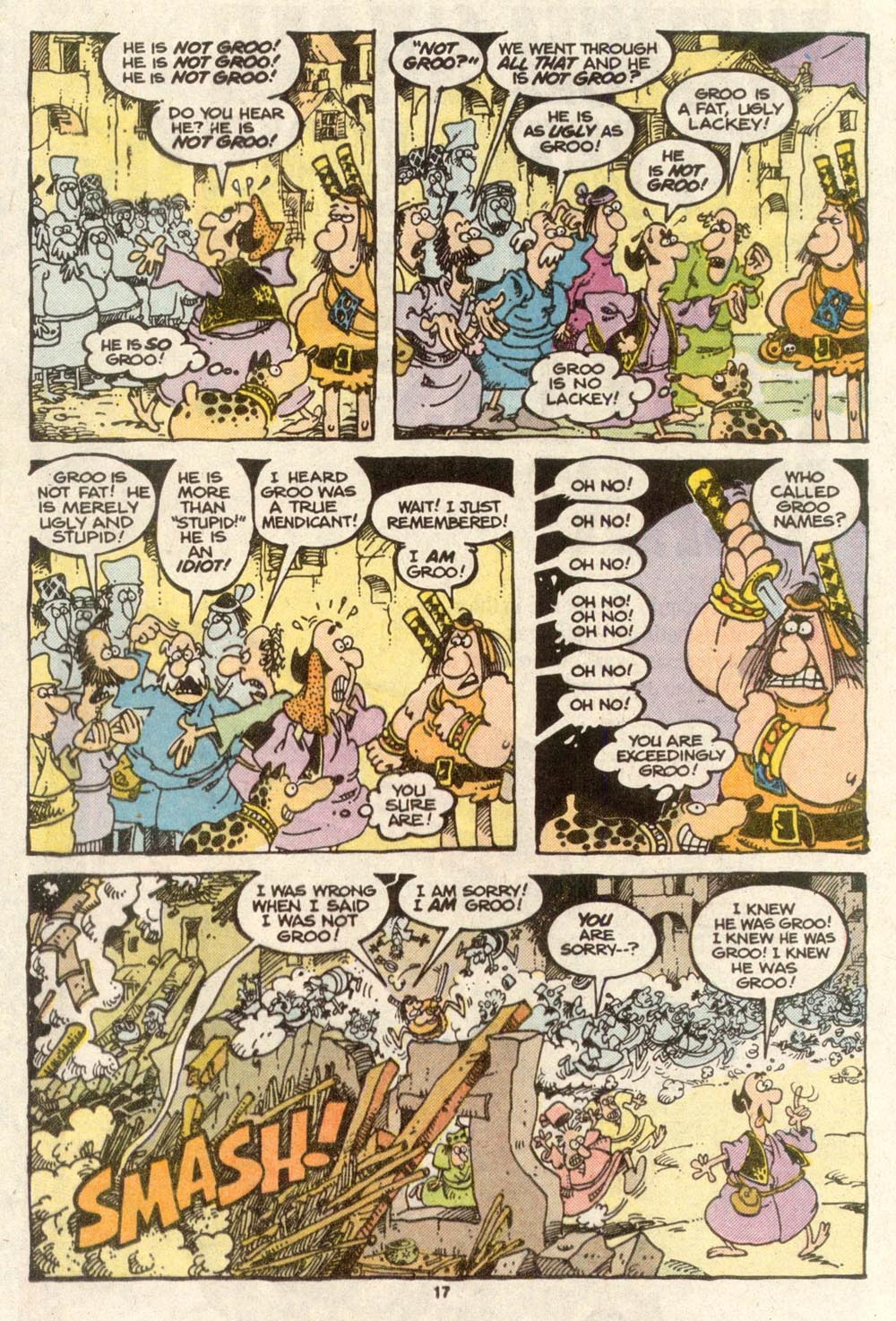 Read online Sergio Aragonés Groo the Wanderer comic -  Issue #48 - 17