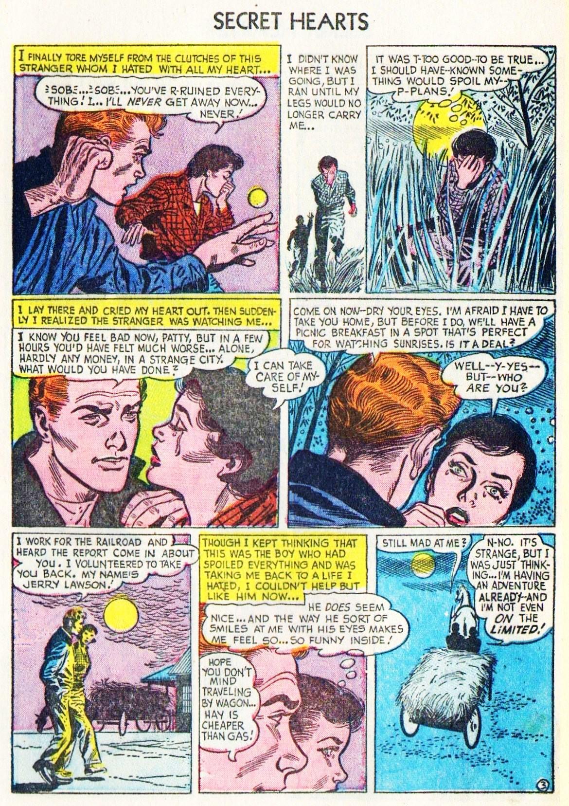 Read online Secret Hearts comic -  Issue #15 - 13