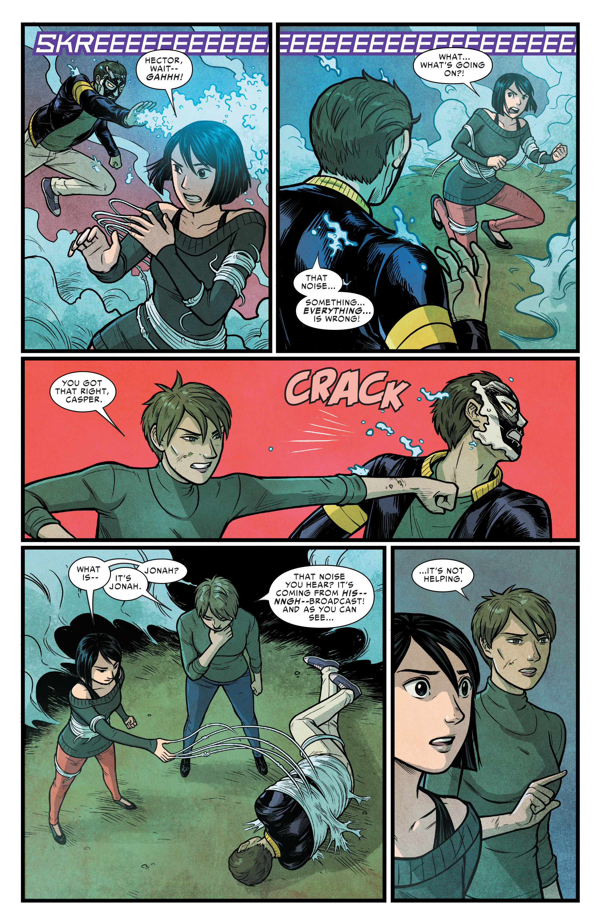 Read online Silk (2016) comic -  Issue #17 - 5