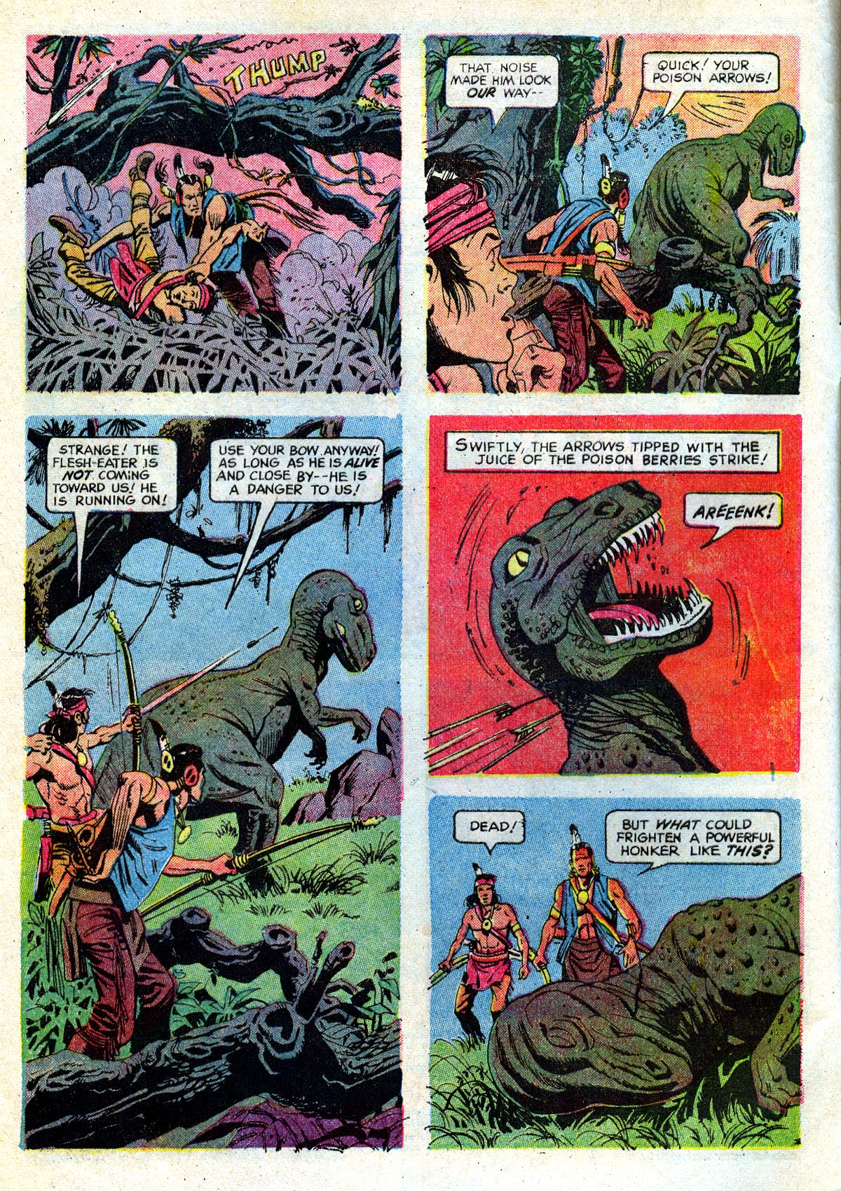 Read online Turok, Son of Stone comic -  Issue #72 - 4