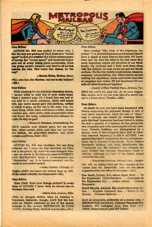 Action Comics (1938) 351 Page 15