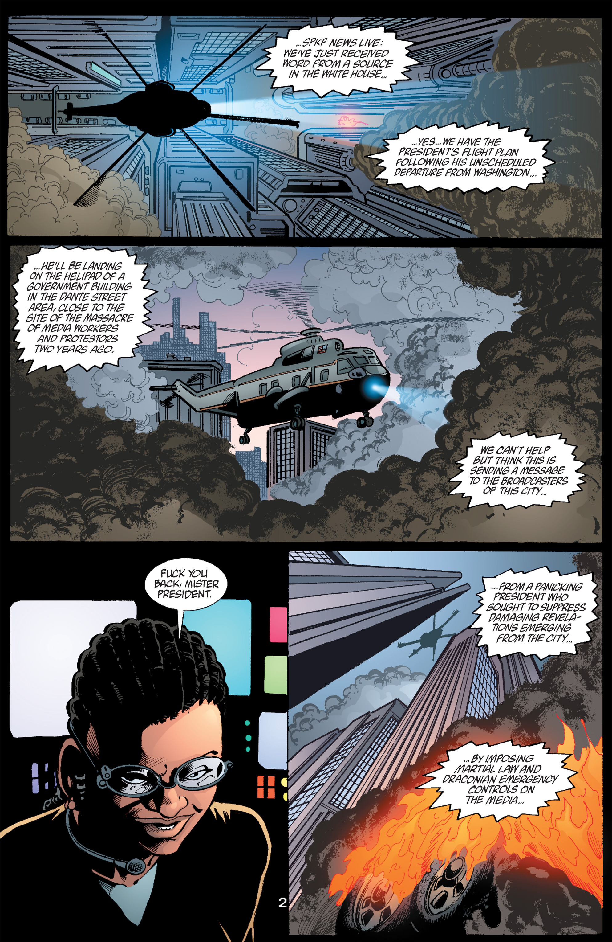 Read online Transmetropolitan comic -  Issue #59 - 3