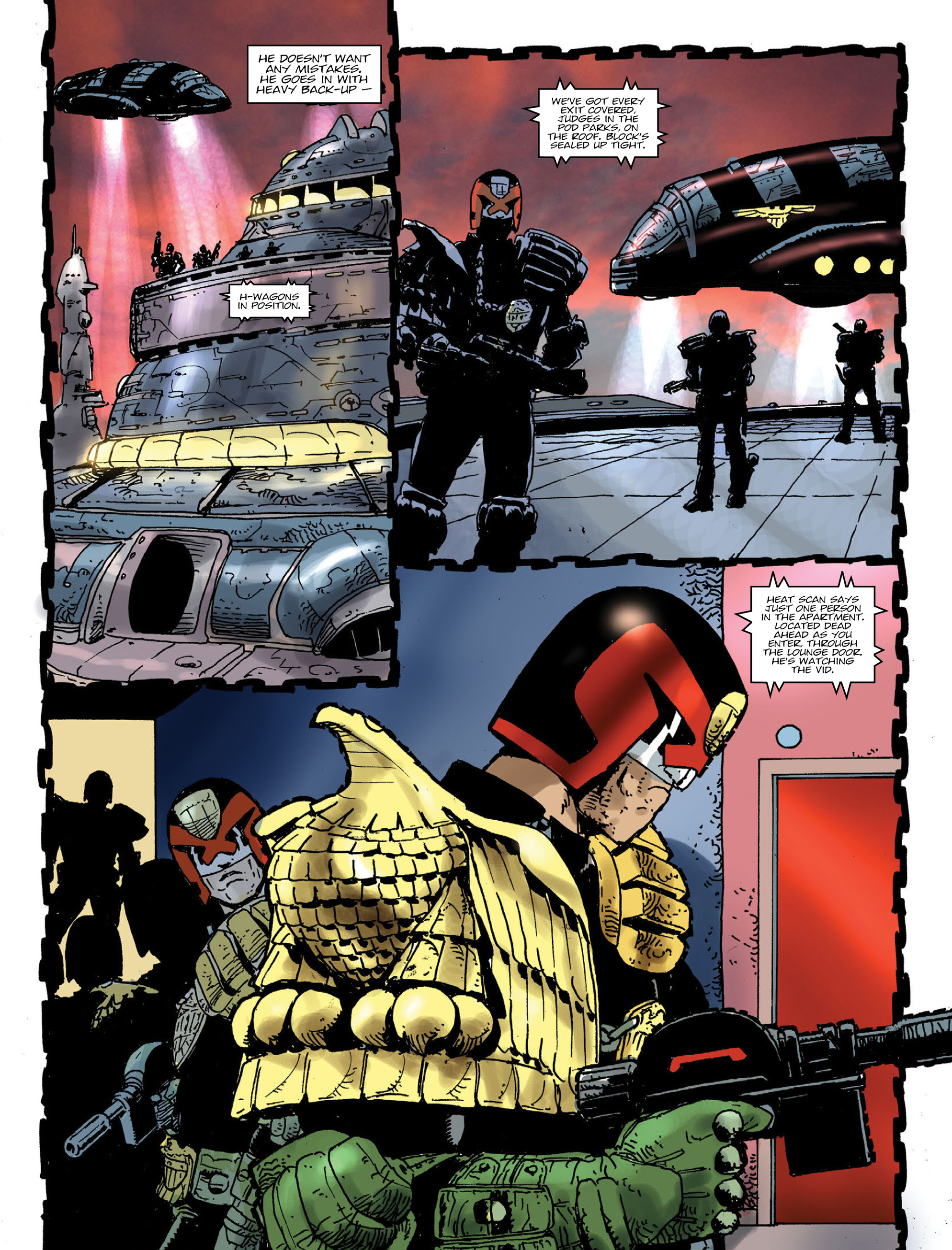 Read online 2000 AD comic -  Issue #1991 - 6