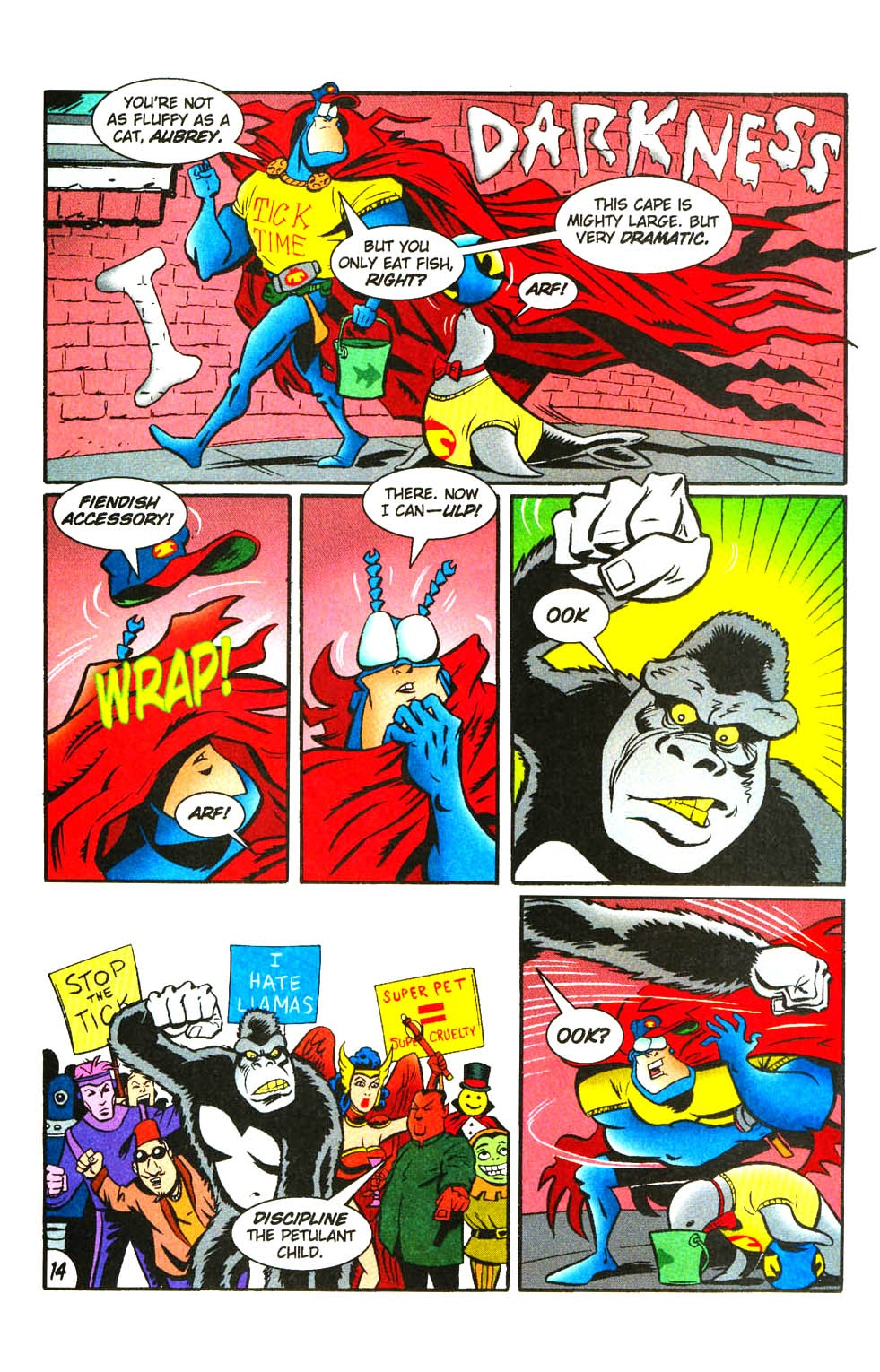 Read online The Tick: Days of Drama comic -  Issue #3 - 16