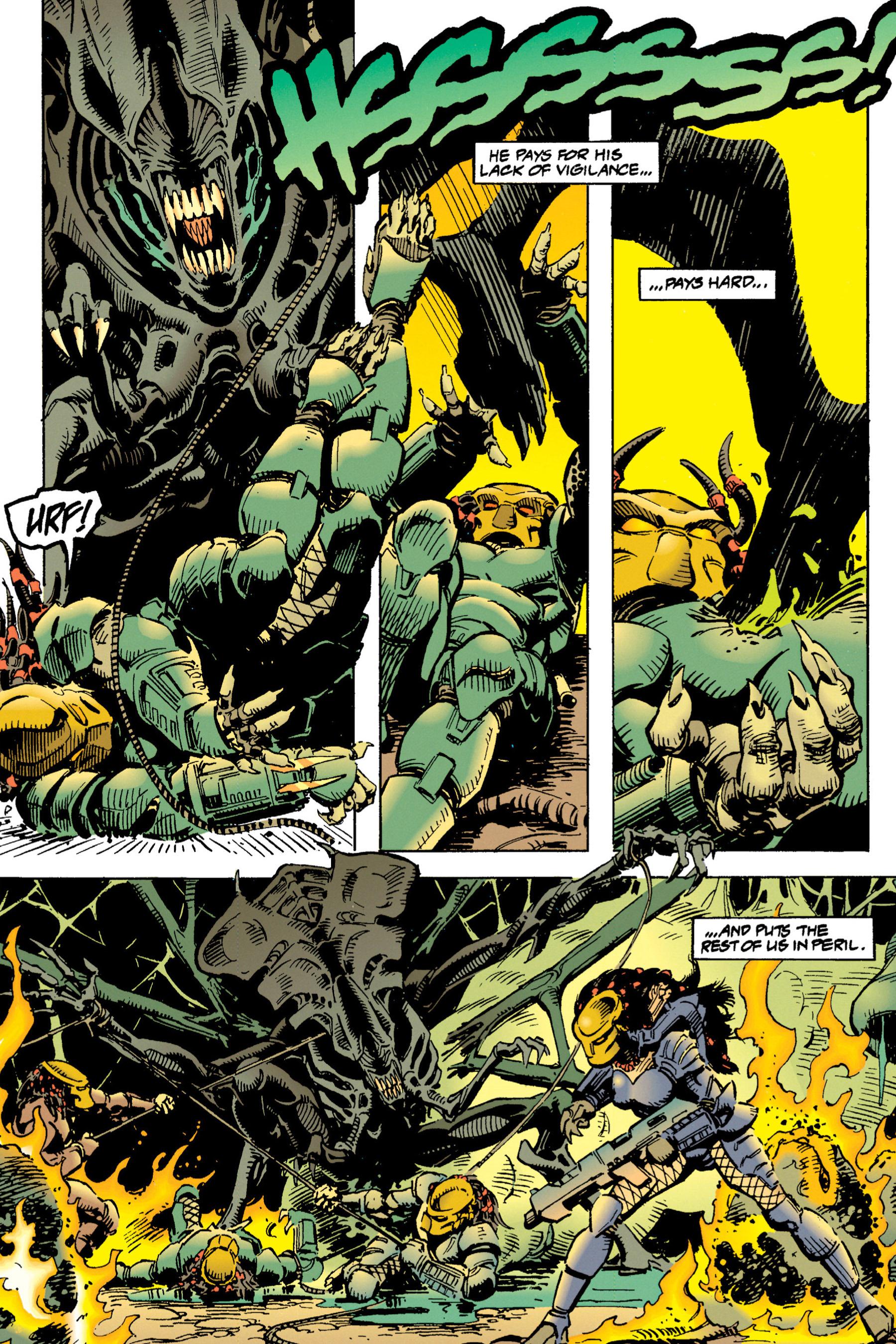 Read online Aliens vs. Predator Omnibus comic -  Issue # _TPB 1 Part 3 - 25