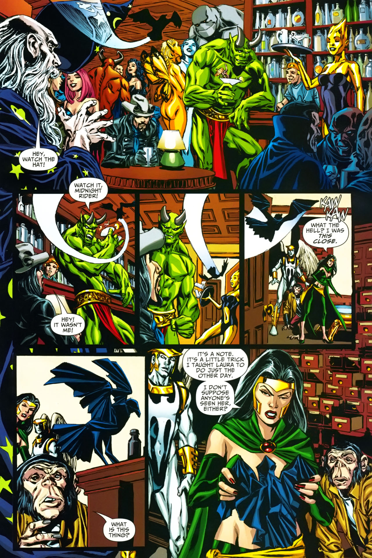 Read online Shadowpact comic -  Issue #19 - 4