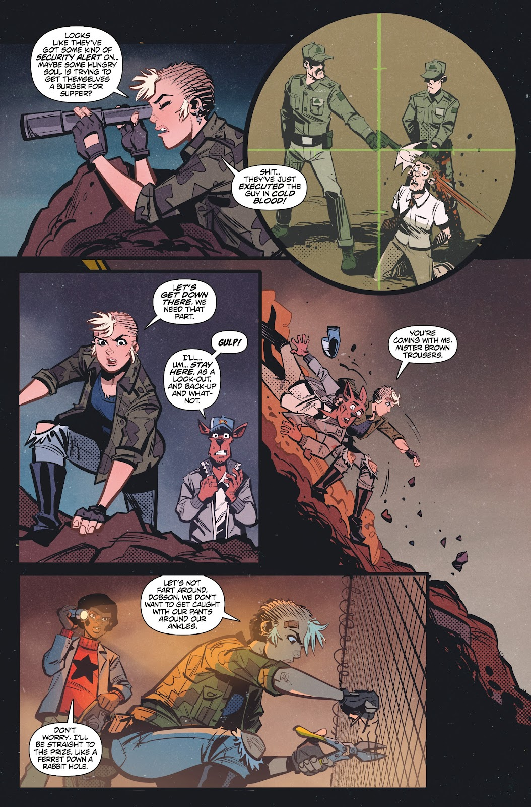 Read online Tank Girl Ongoing comic -  Issue #3 - 18