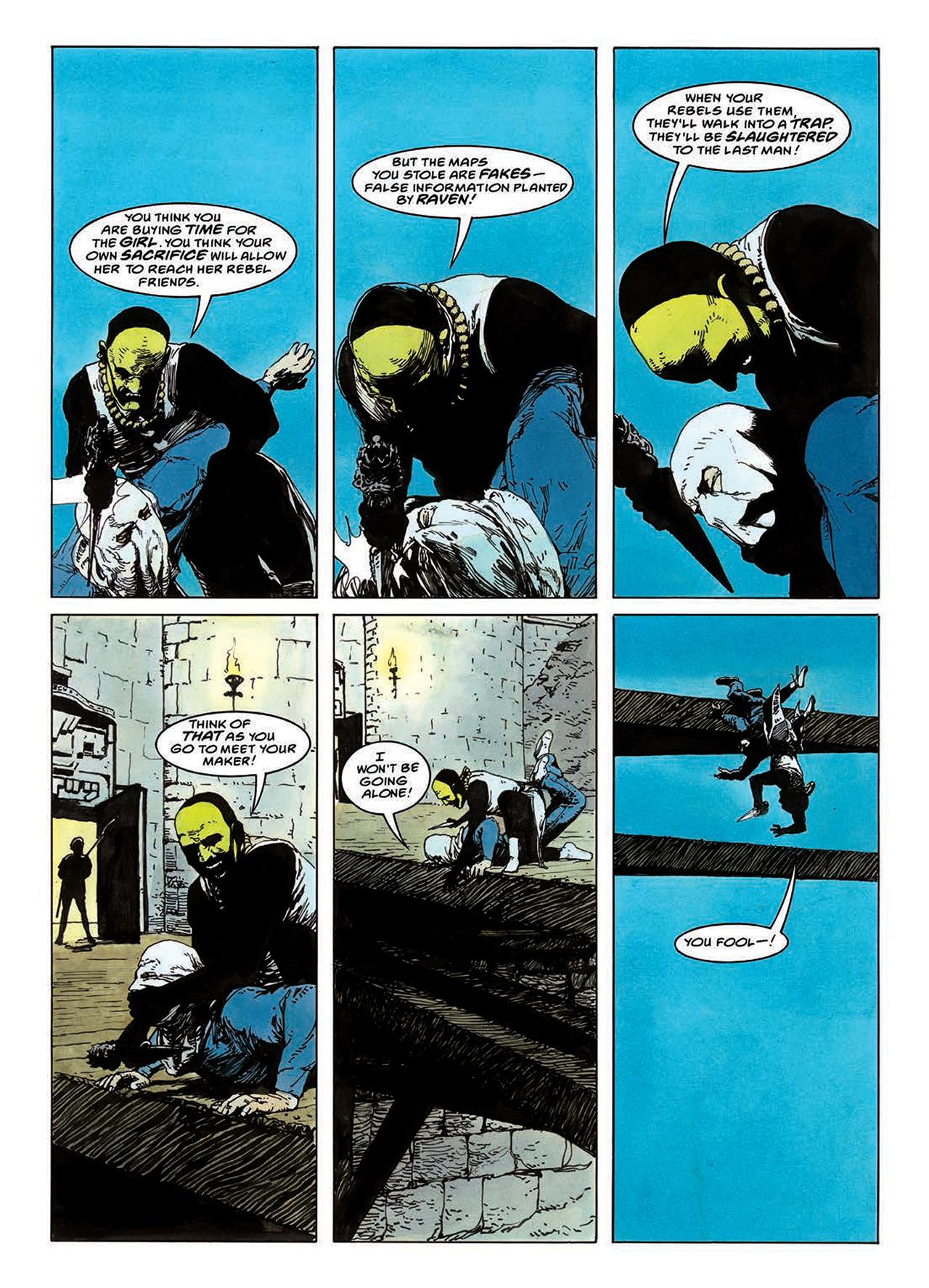 Read online Mazeworld comic -  Issue # TPB - 93