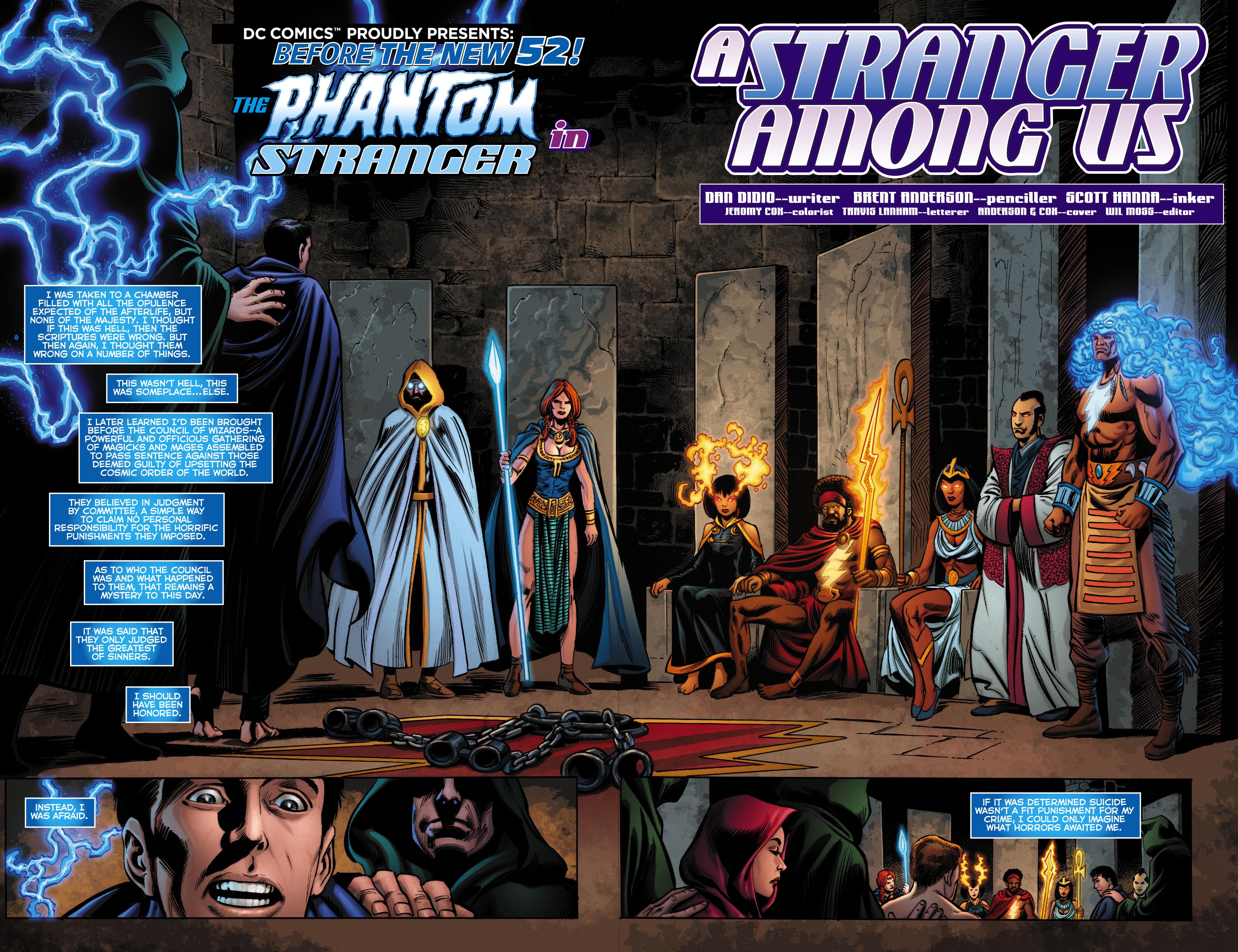 Read online Trinity of Sin: The Phantom Stranger comic -  Issue #0 - 3