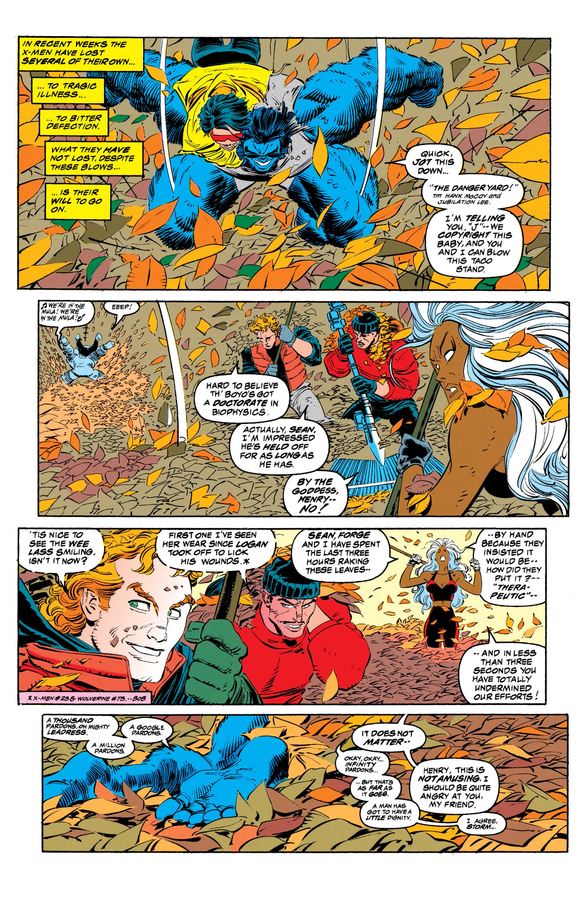 Read online Uncanny X-Men (1963) comic -  Issue #308 - 5