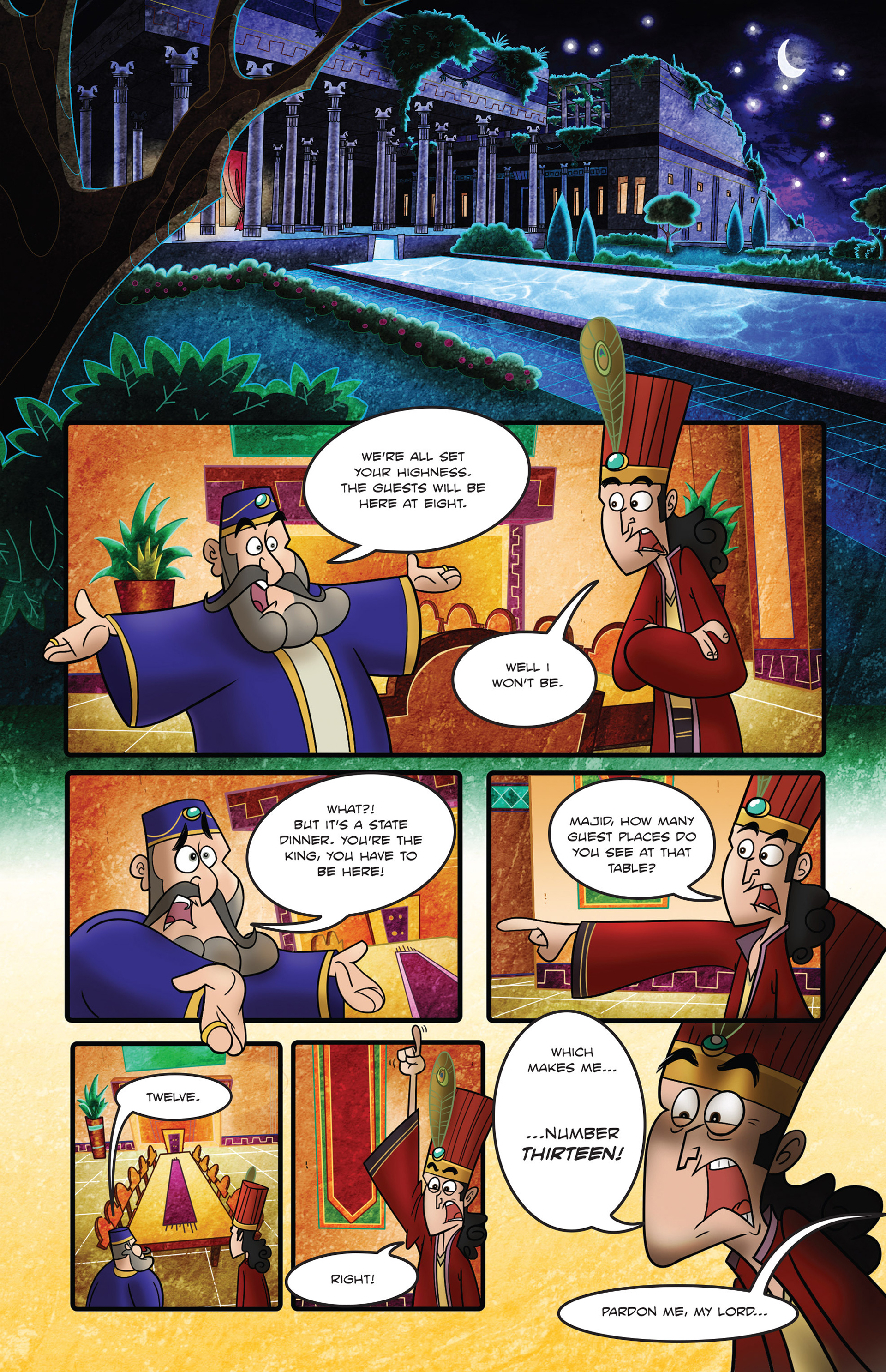 Read online 1001 Nights comic -  Issue #2 - 3