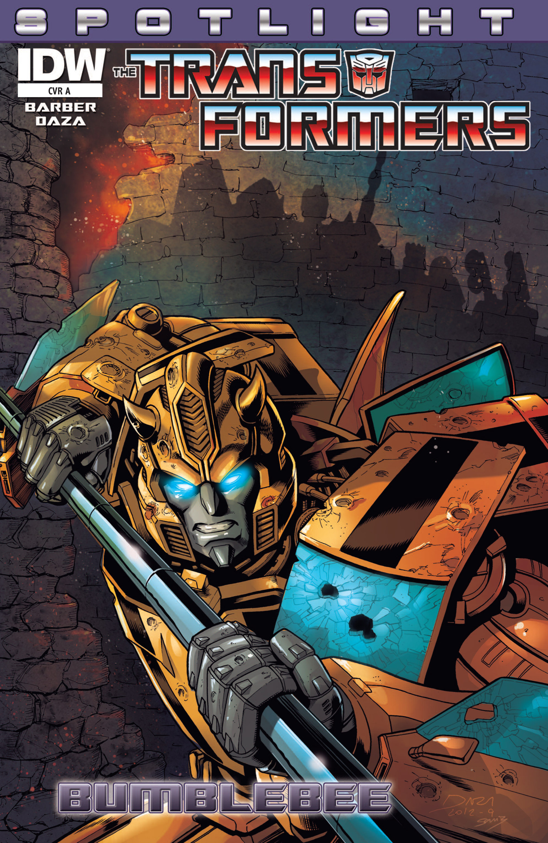 The Transformers Spotlight: Bumblebee Full Page 1
