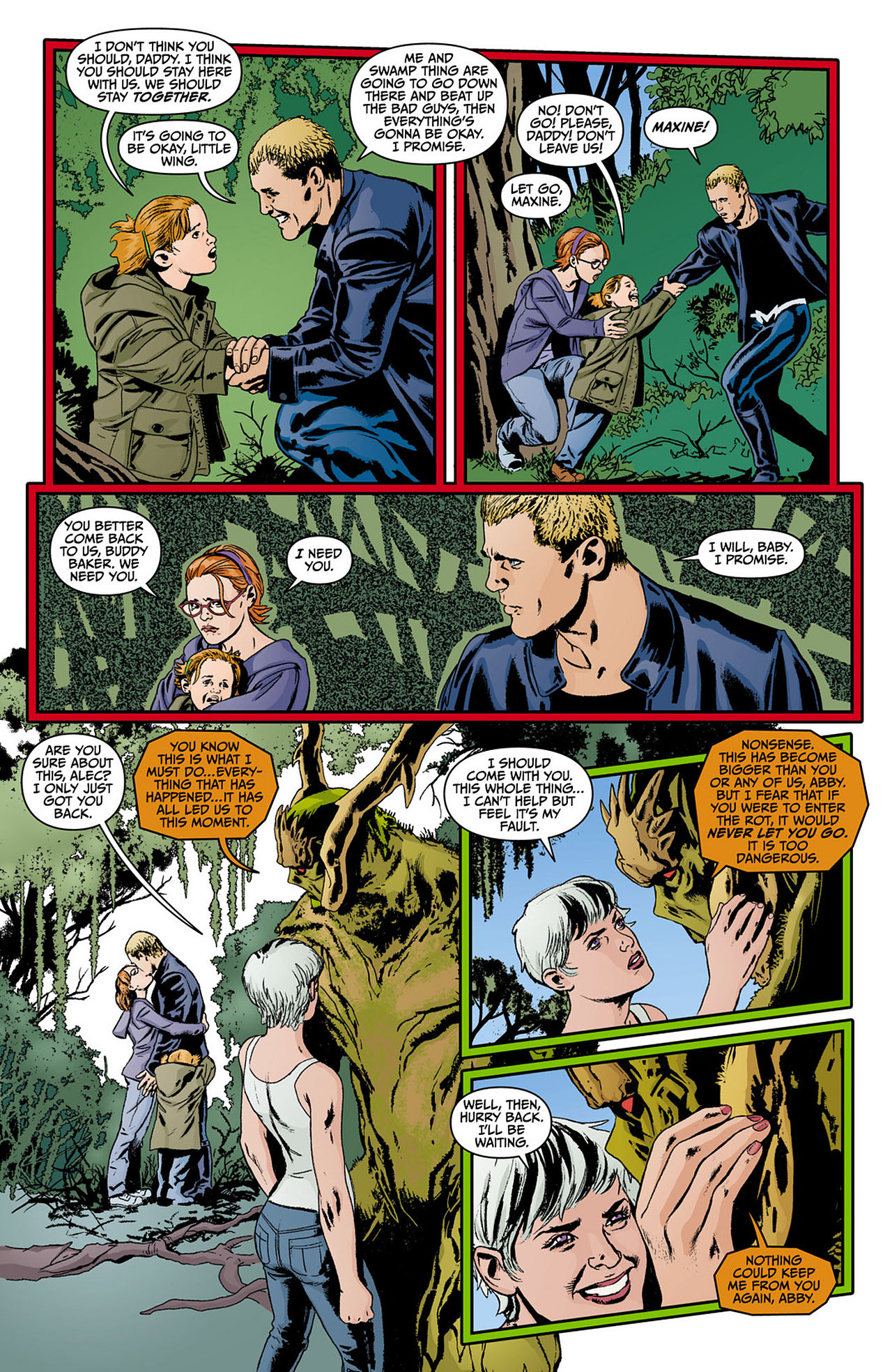 Read online Animal Man (2011) comic -  Issue #12 - 15