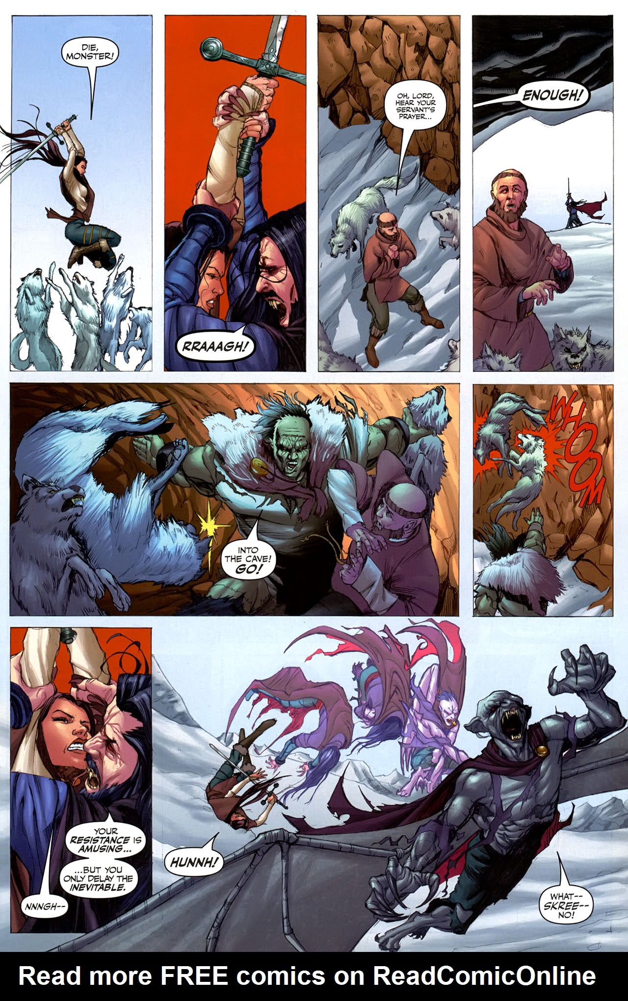 Read online Eva: Daughter of the Dragon comic -  Issue # Full - 11