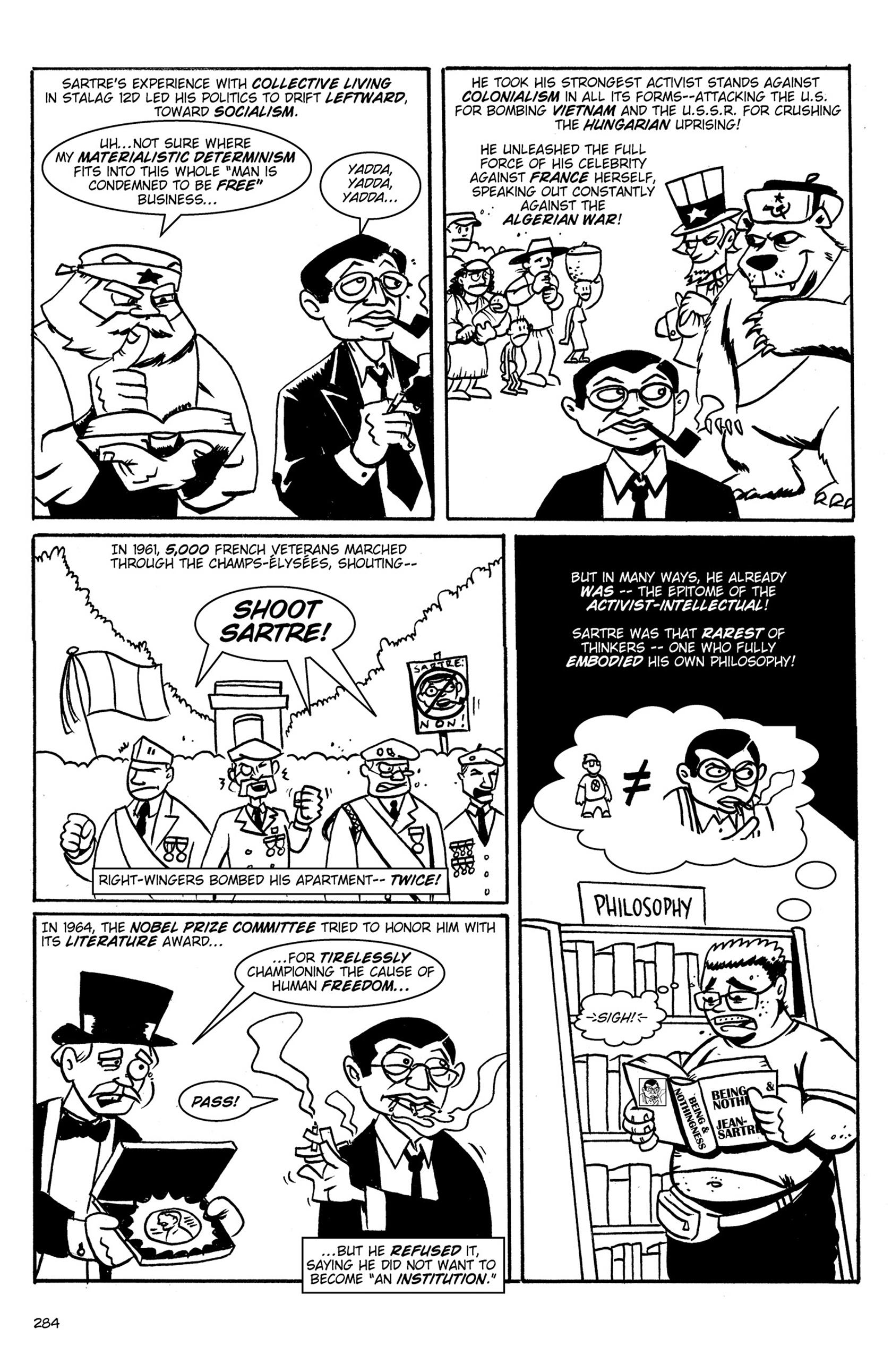 Read online Action Philosophers! comic -  Issue #Action Philosophers! TPB (Part 2) - 112