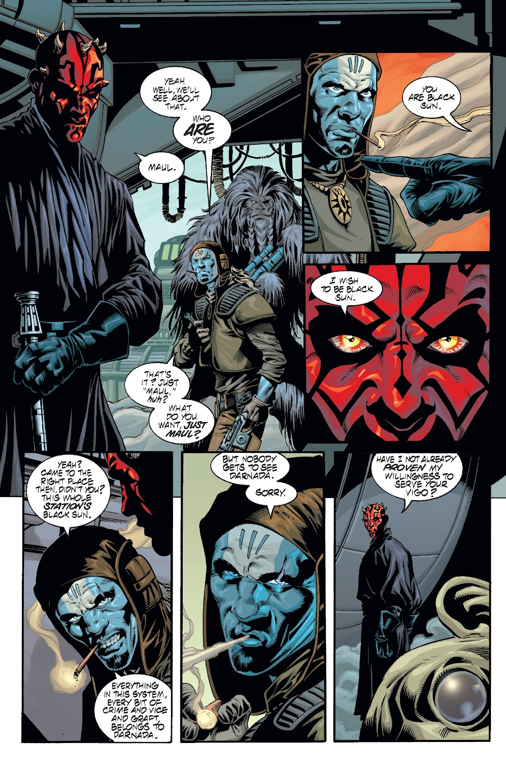 Read online Star Wars Legends: Rise of the Sith - Epic Collection comic -  Issue # TPB 2 (Part 2) - 70