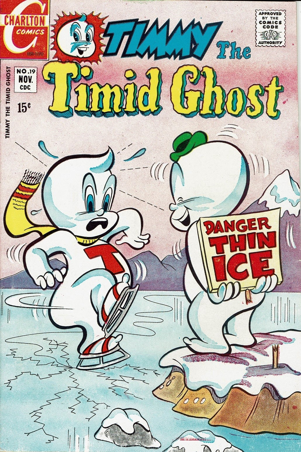 Timmy the Timid Ghost 19 Page 1