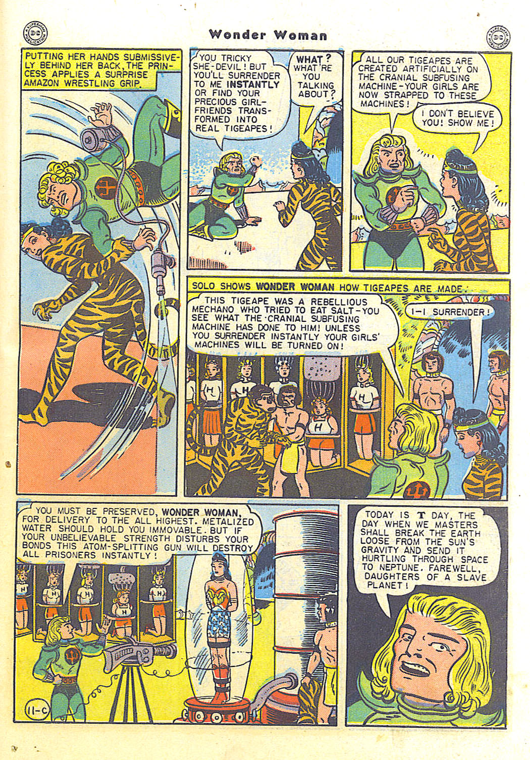Read online Wonder Woman (1942) comic -  Issue #15 - 45