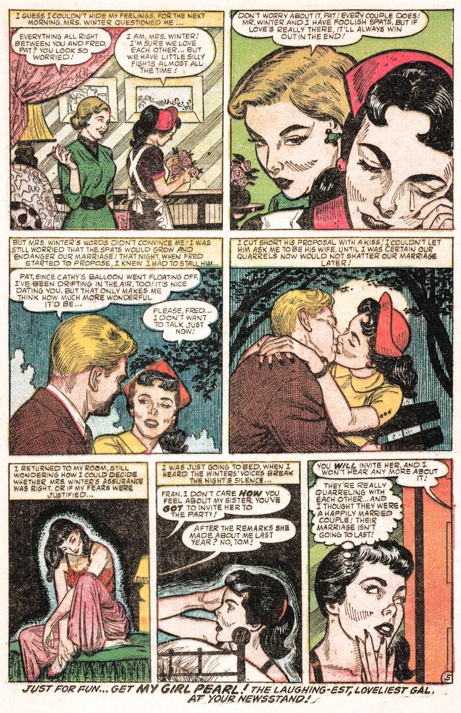 Love Romances (1949) issue 51 - Page 23