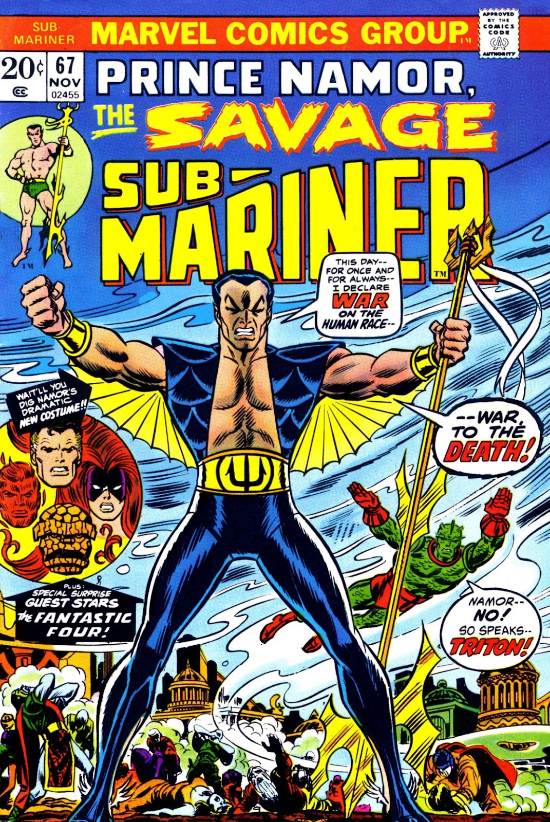 The Sub-Mariner 67 Page 1