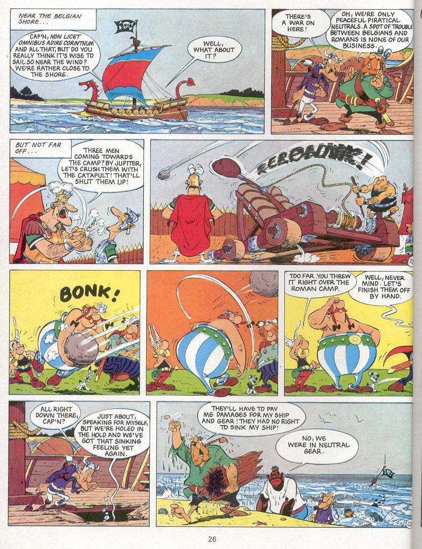 Read online Asterix comic -  Issue #24 - 23
