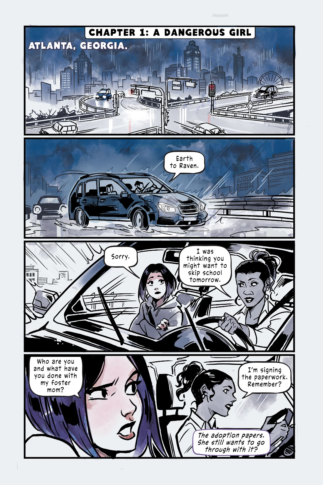 Read online Under the Moon: A Catwoman Tale comic -  Issue # TPB (Part 2) - 103